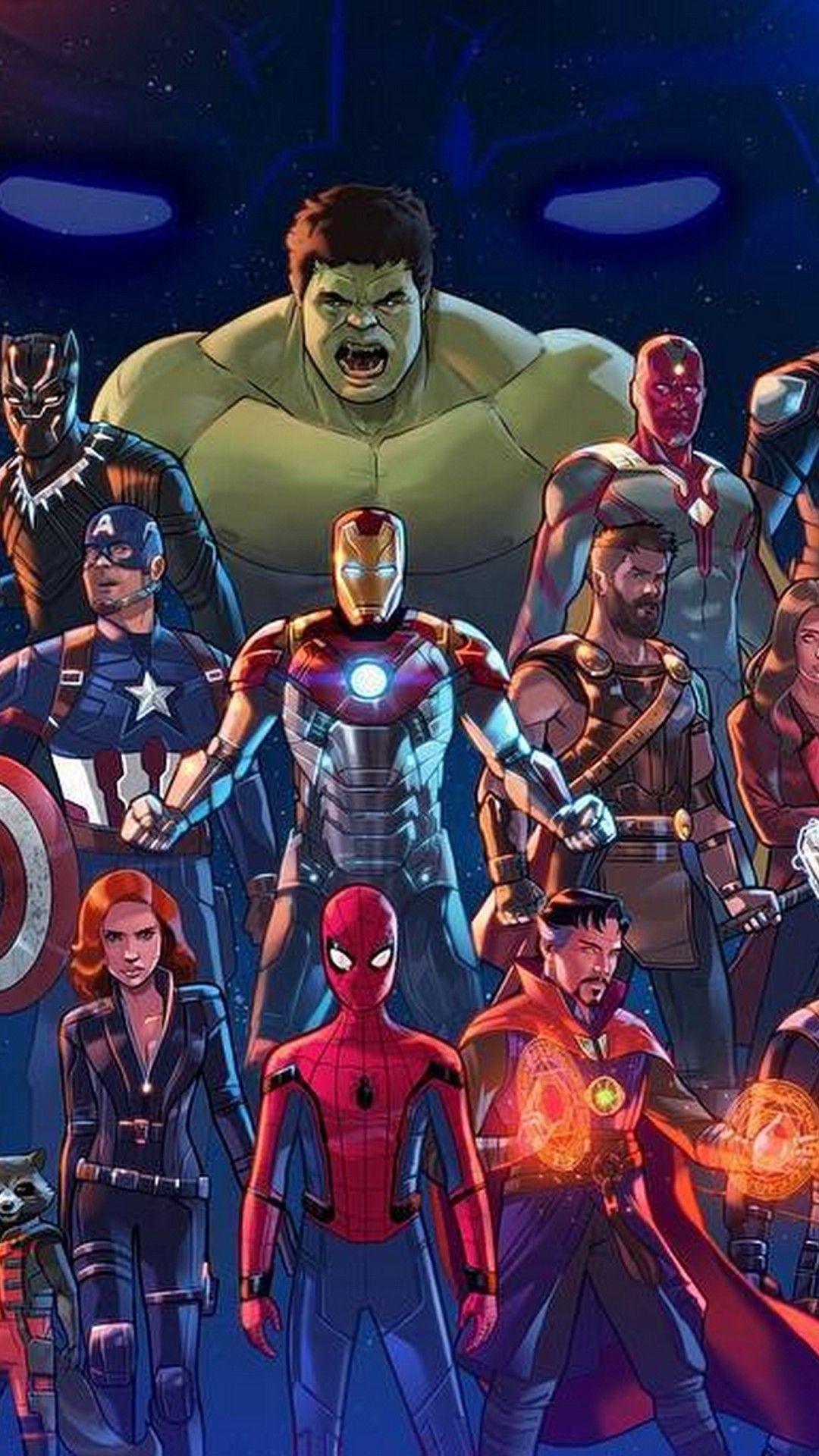 Cartoon Avengers Wallpapers - Wallpaper ...