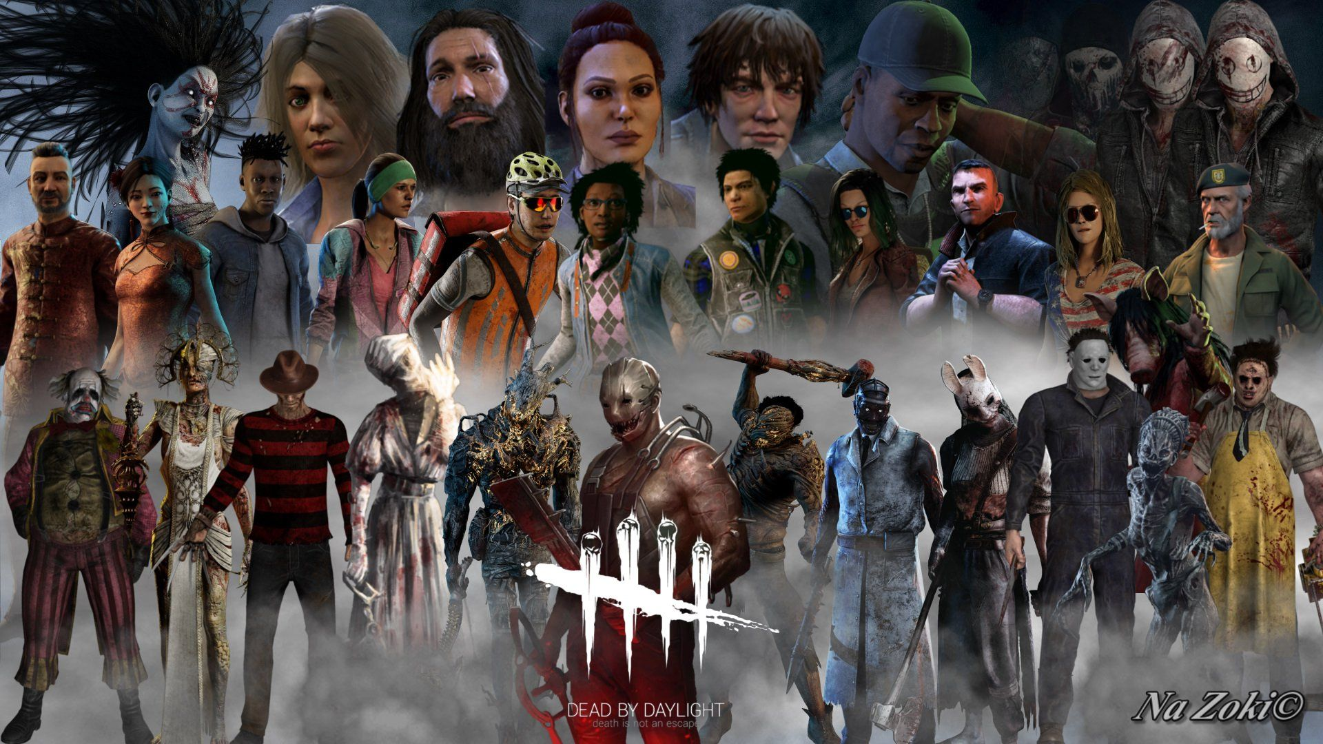 Dead By Daylight Killers Wallpapers - Wallpaper Cave