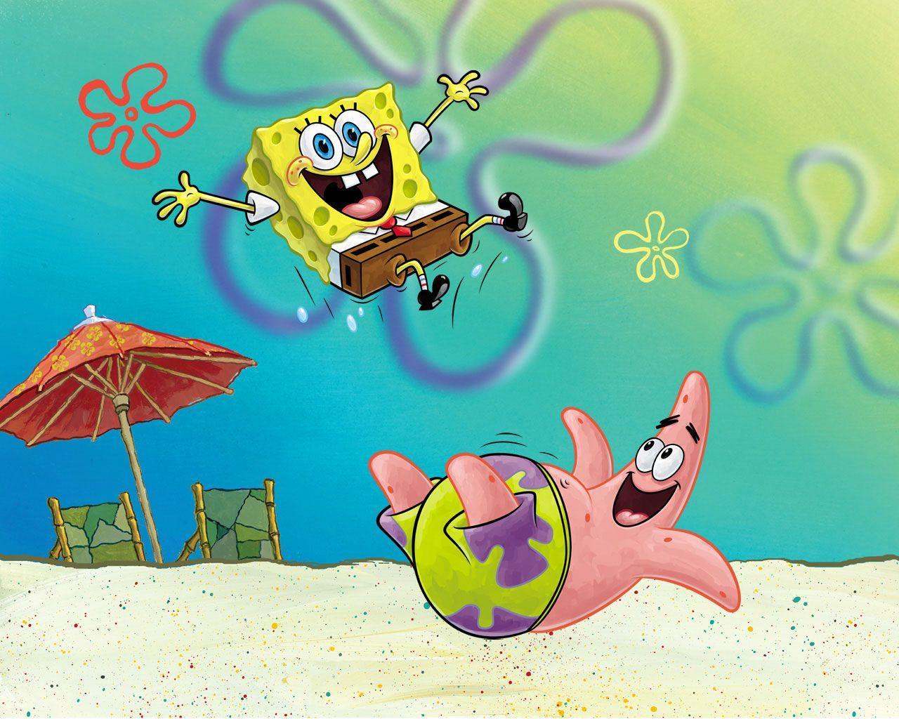 Spongebob And Patrick Wallpapers Wallpaper Cave