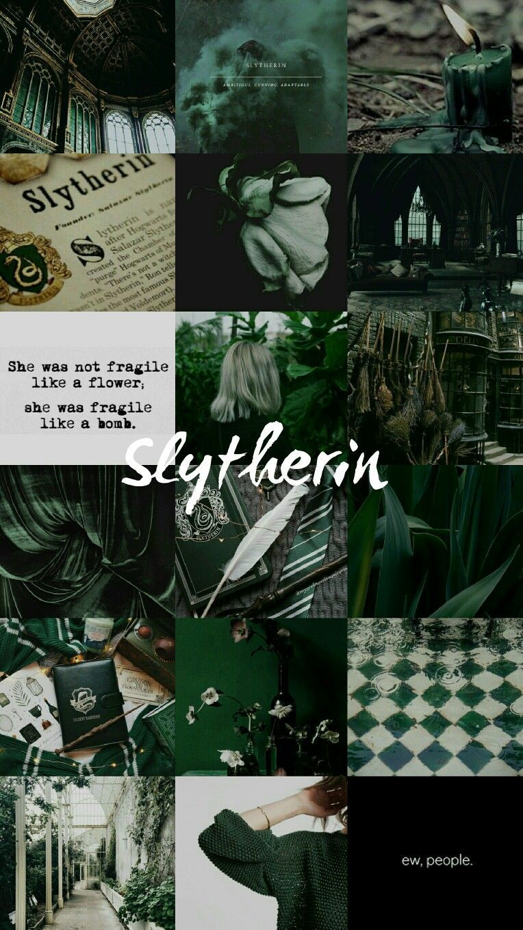 Slytherin Aesthetic Wallpapers ...
