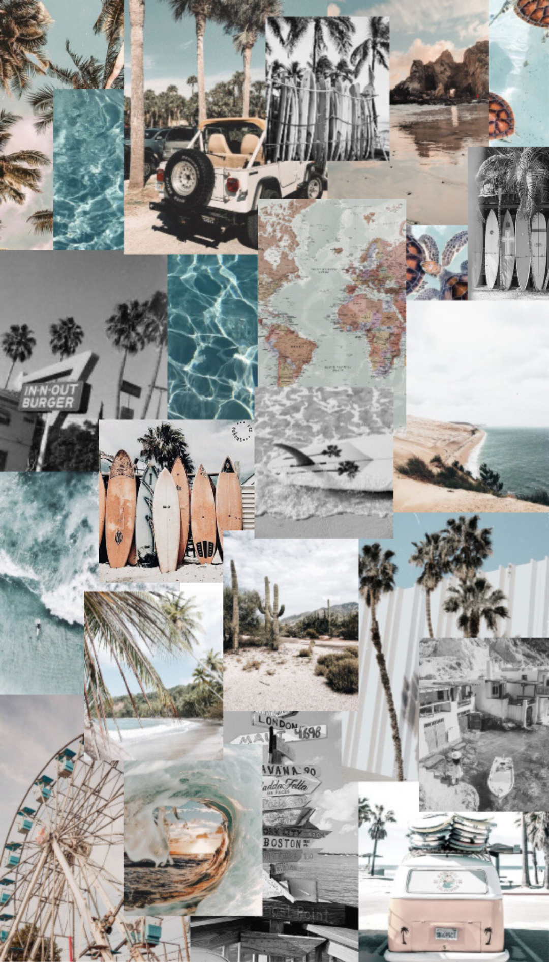 Soft Summer Collage Wallpapers   Wallpaper Cave
