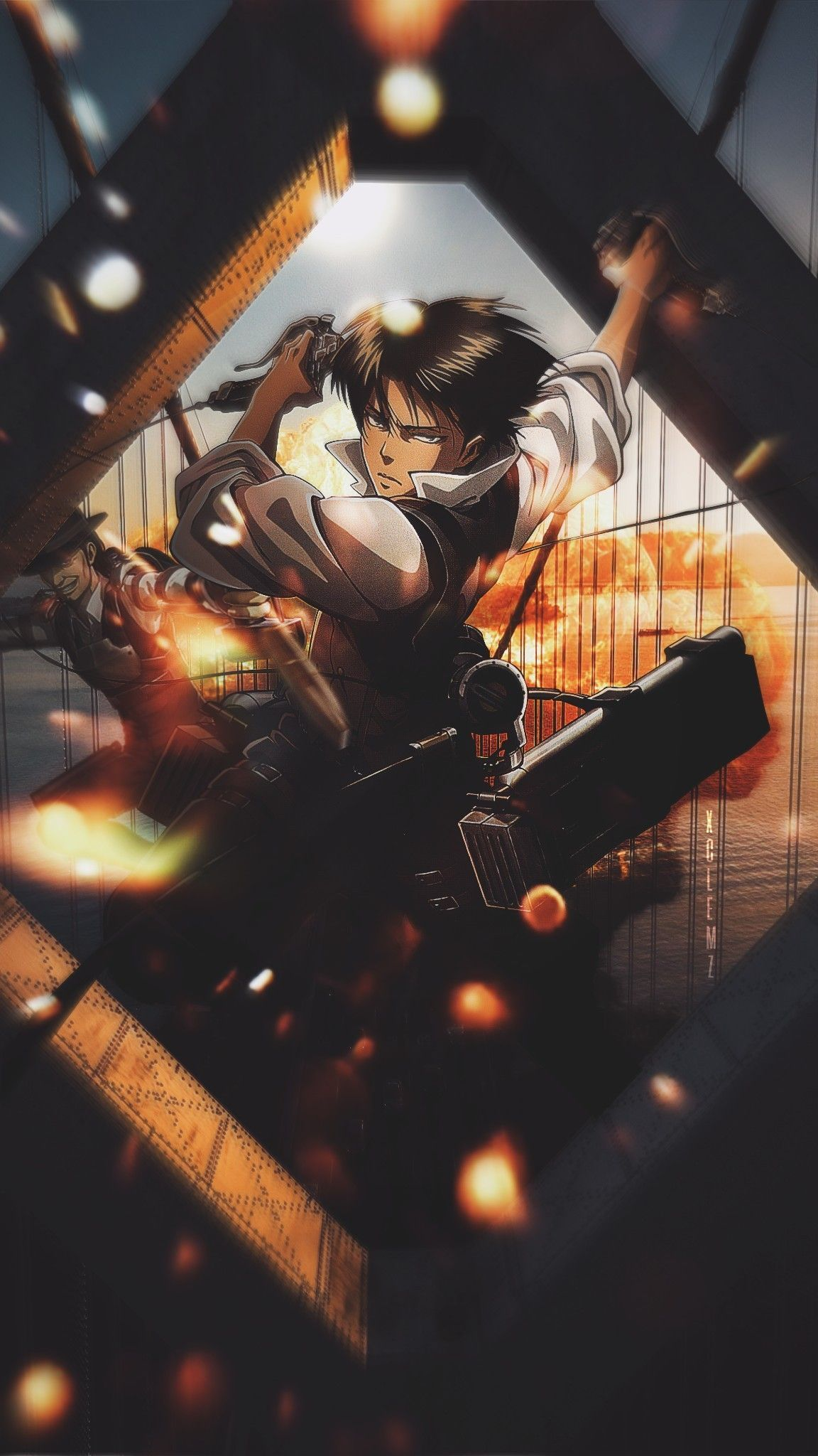 Attack On Titan Phone Wallpapers Wallpaper Cave