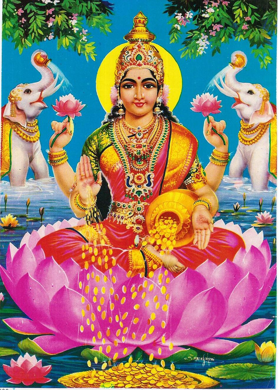 Lord Lakshmi Devi Wallpapers Wallpaper Cave