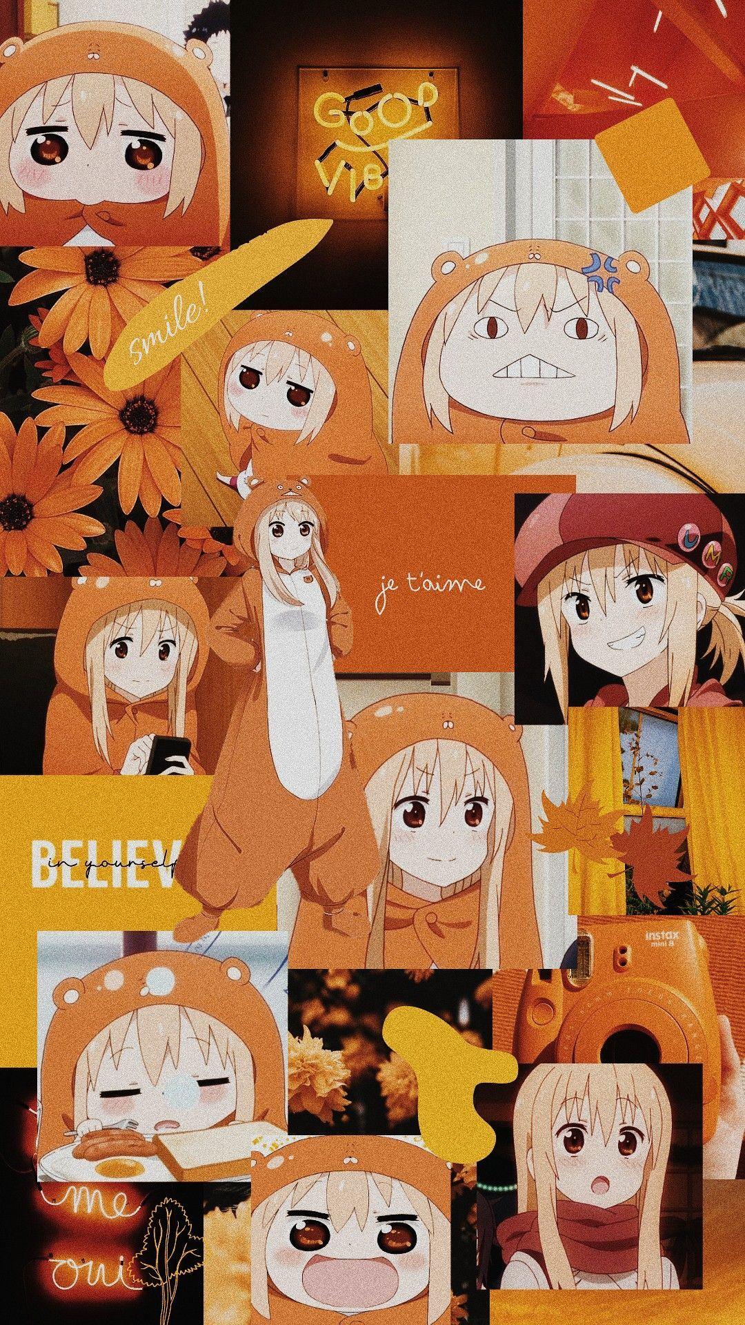 Orange Aesthetic Anime Wallpapers ...