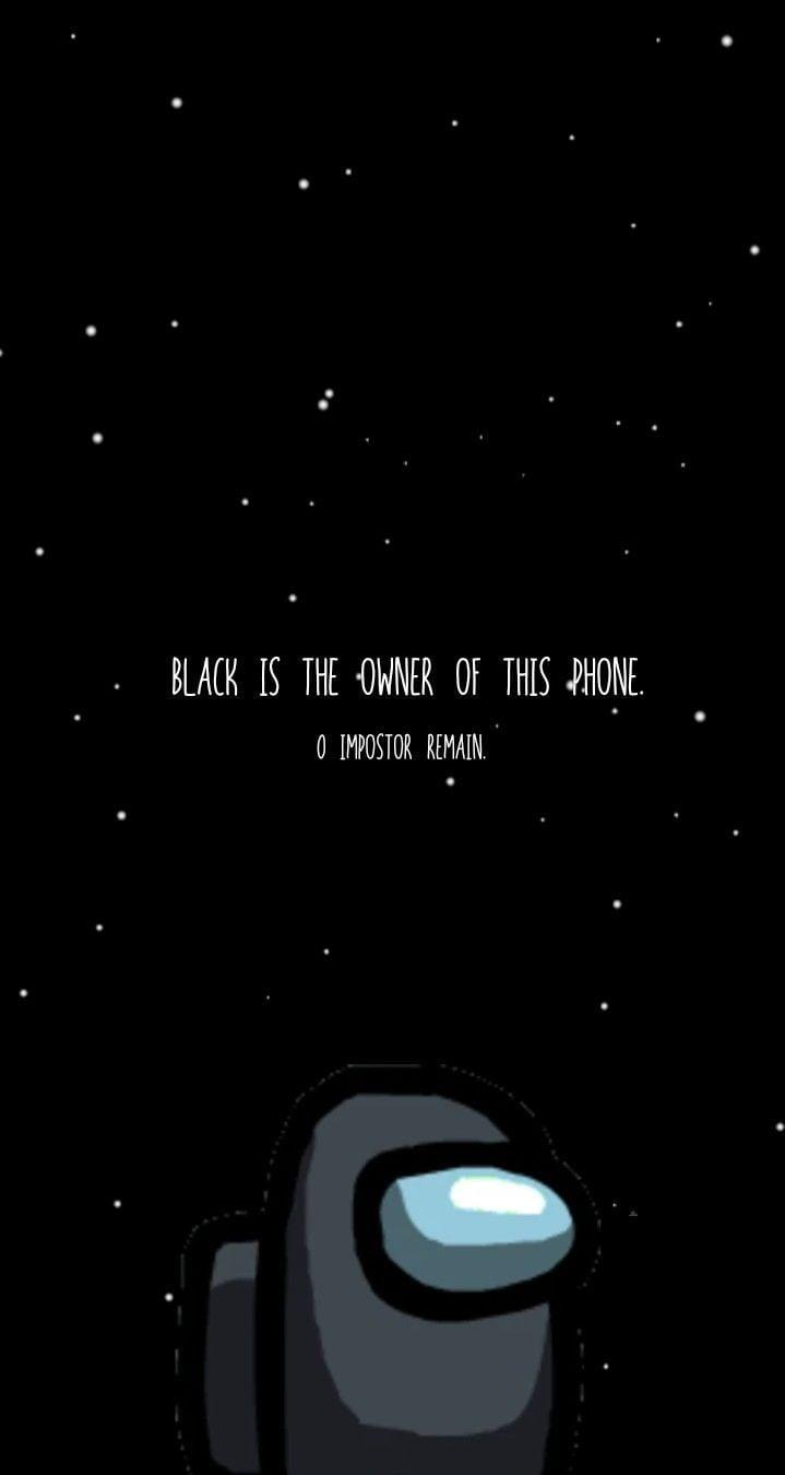 Black Among Us Wallpapers Wallpaper Cave Among us black character logo. black among us wallpapers wallpaper cave