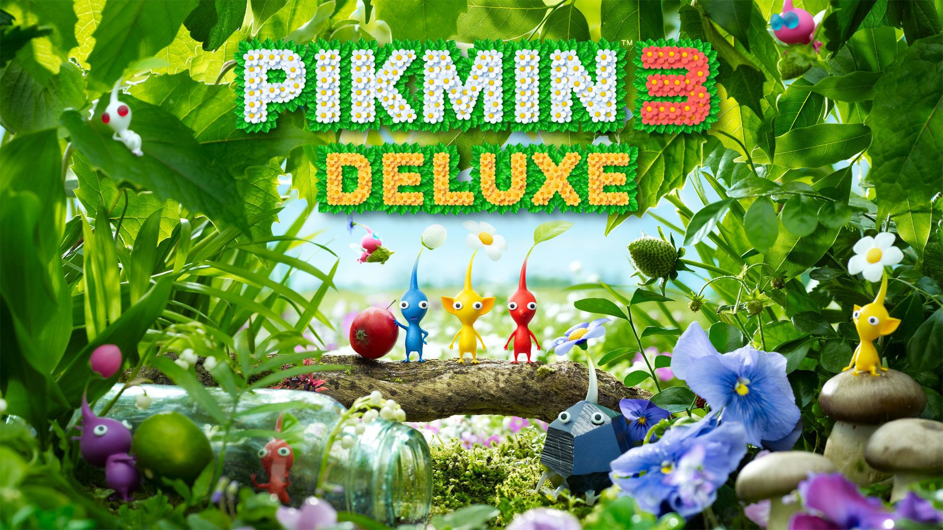 Pikmin 3 Deluxe HD Wallpapers - Wallpaper Cave