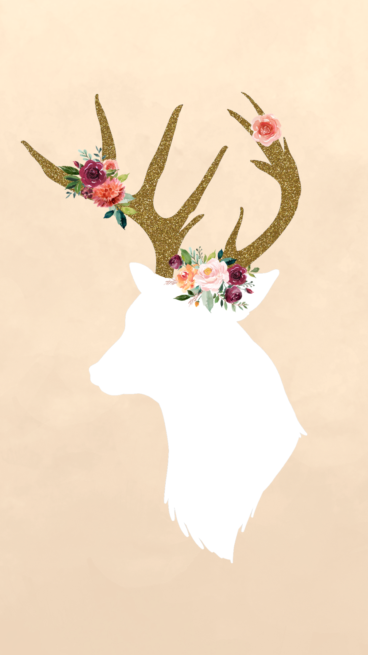 Cute Deer Wallpapers - Wallpaper Cave