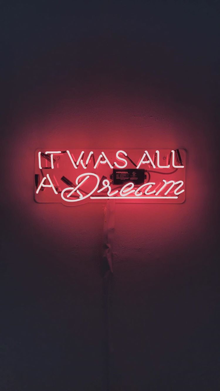 Neon Quotes Wallpapers Wallpaper Cave