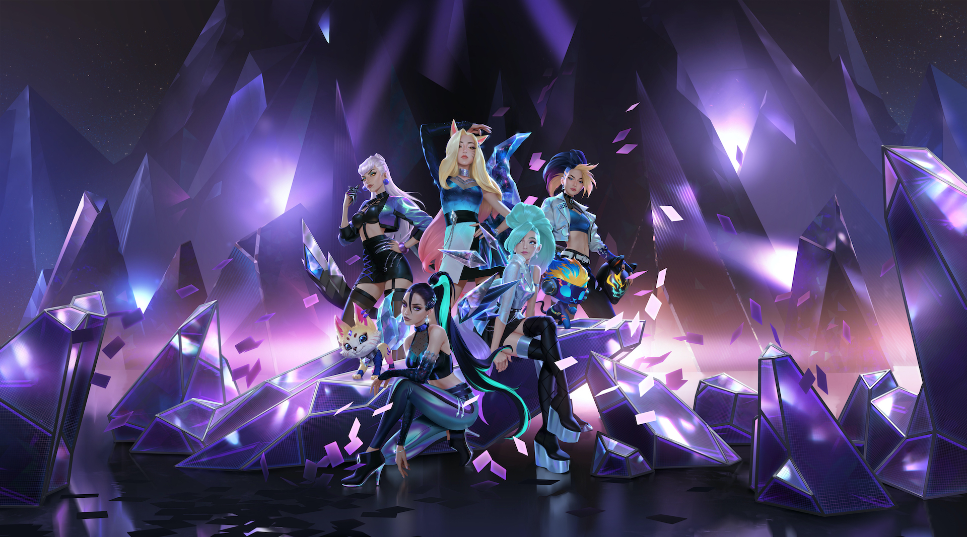 KDA All Out Wallpapers - Wallpaper Cave