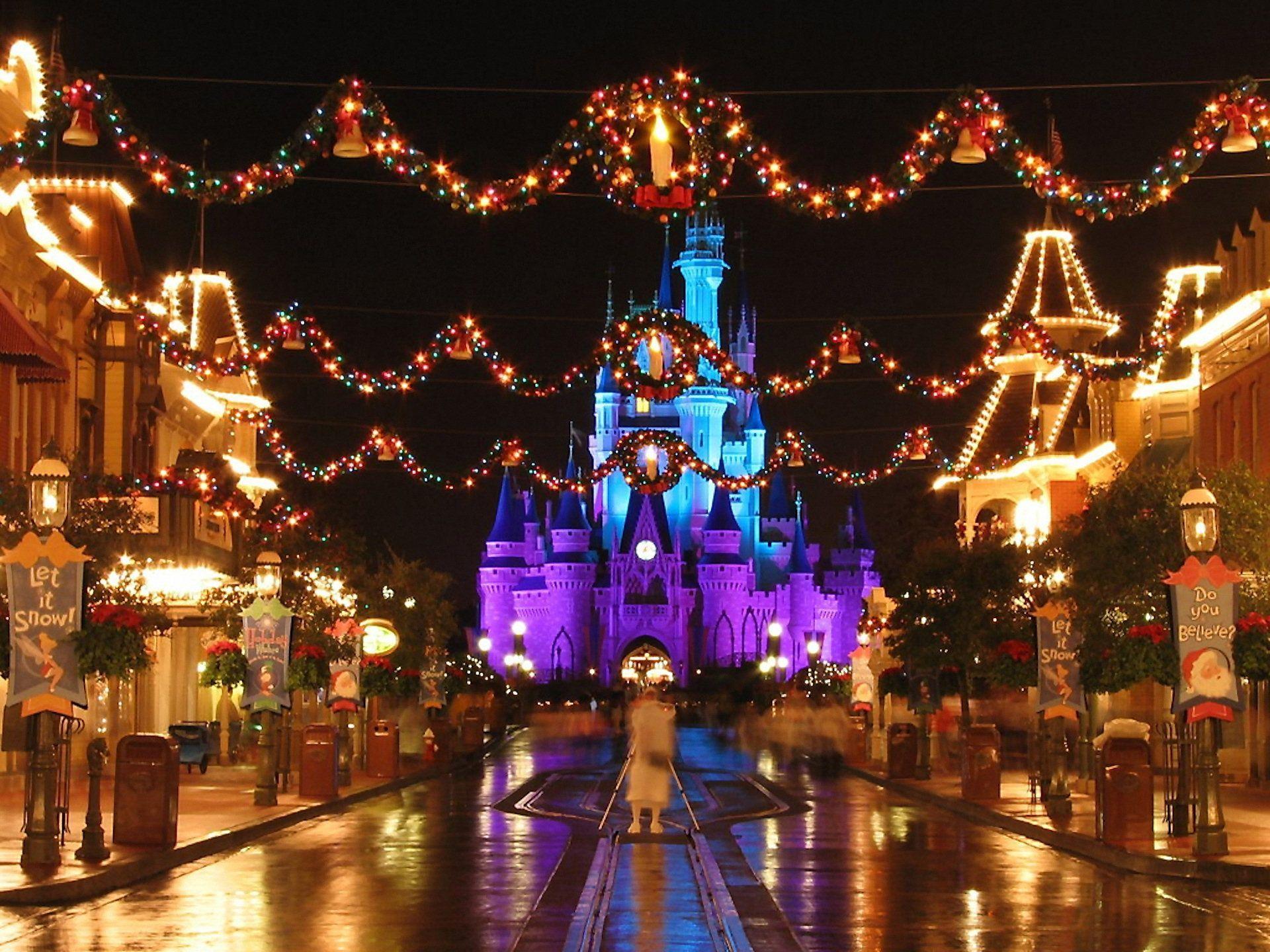 4k Disney Christmas Wallpapers - Wallpaper Cave