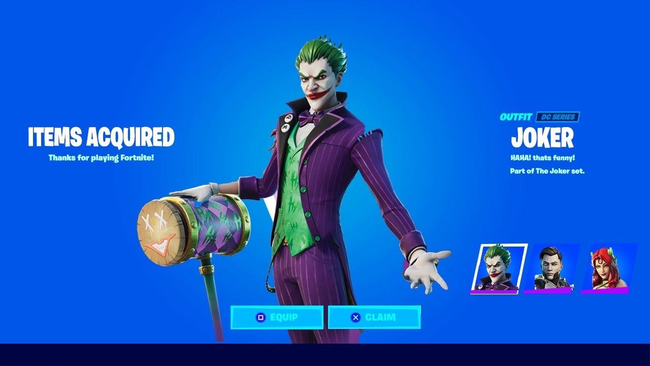 The Joker Fortnite Wallpapers Wallpaper Cave How to get the fortnite the joker outfit? the joker fortnite wallpapers