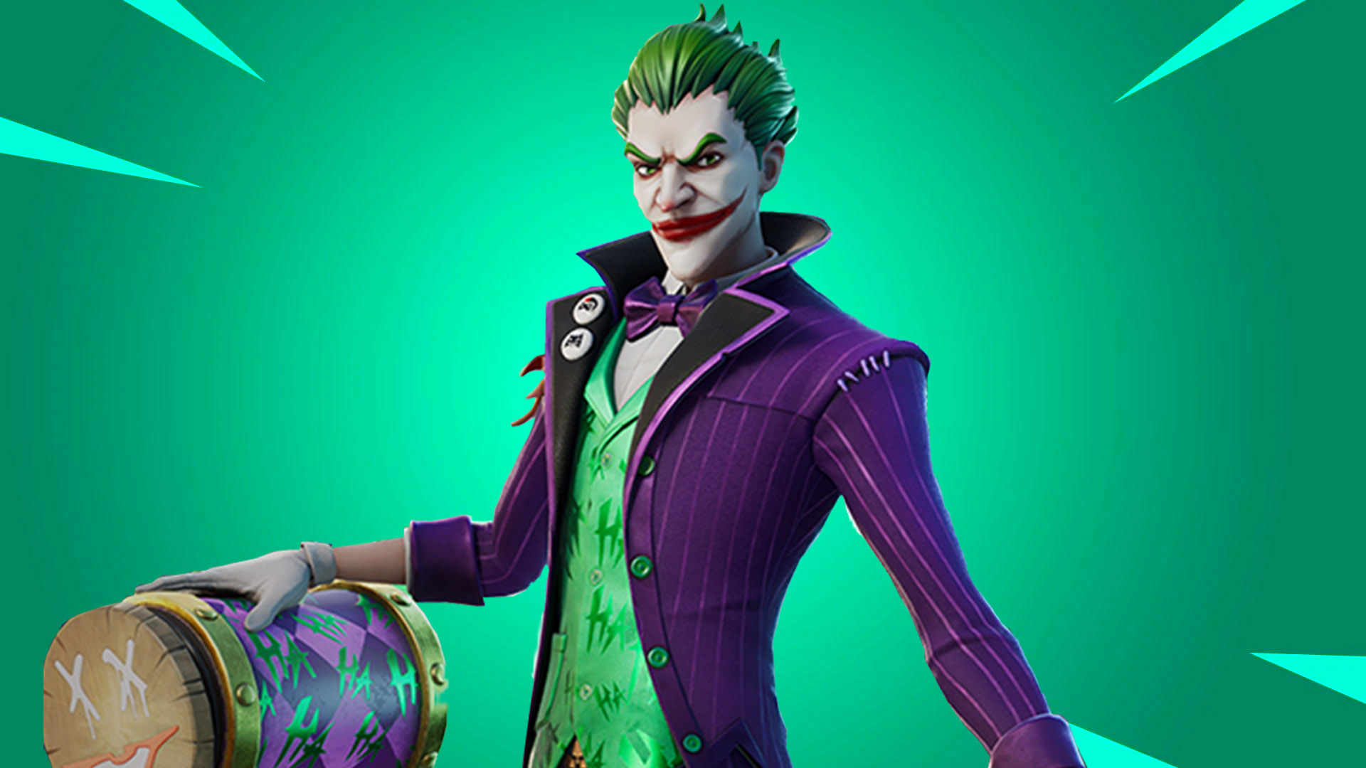 The Joker Fortnite Wallpapers Wallpaper Cave The joker is a dc series outfit in battle royale that can be obtained by purchasing the last laugh bundle. the joker fortnite wallpapers