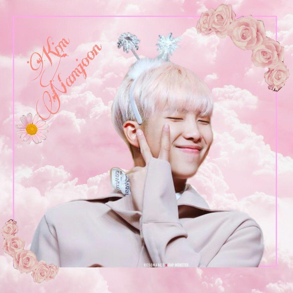 BTS RM Cute Wallpapers   Wallpaper Cave