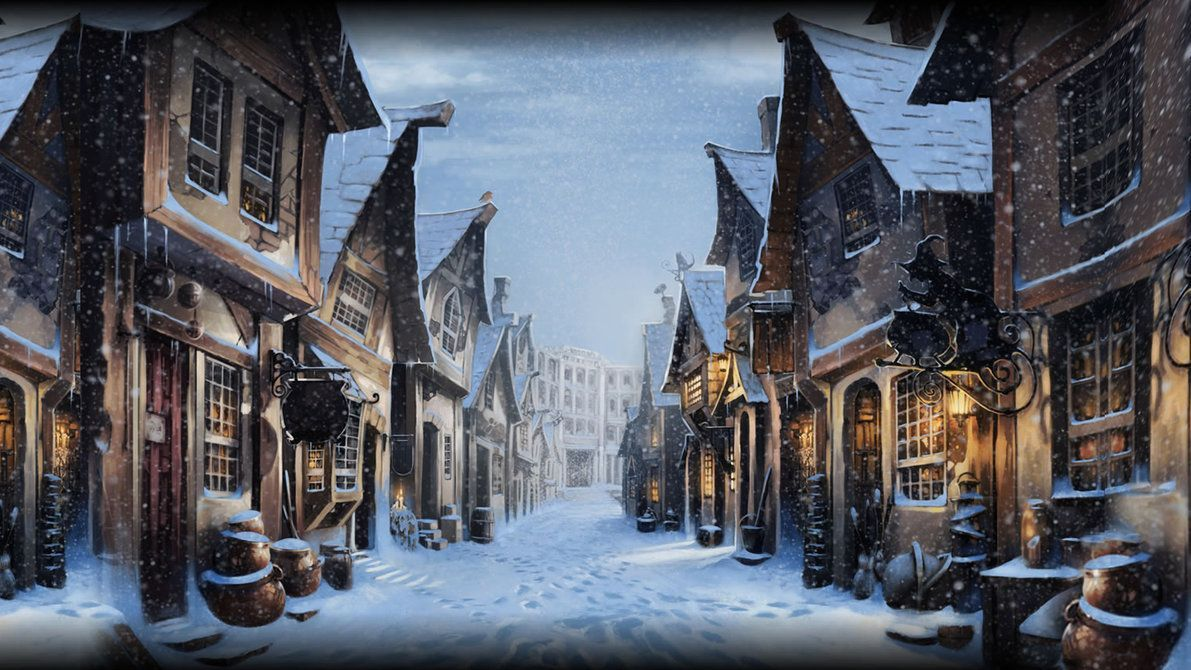 Merry Christmas Harry Potter Wallpapers - Wallpaper Cave