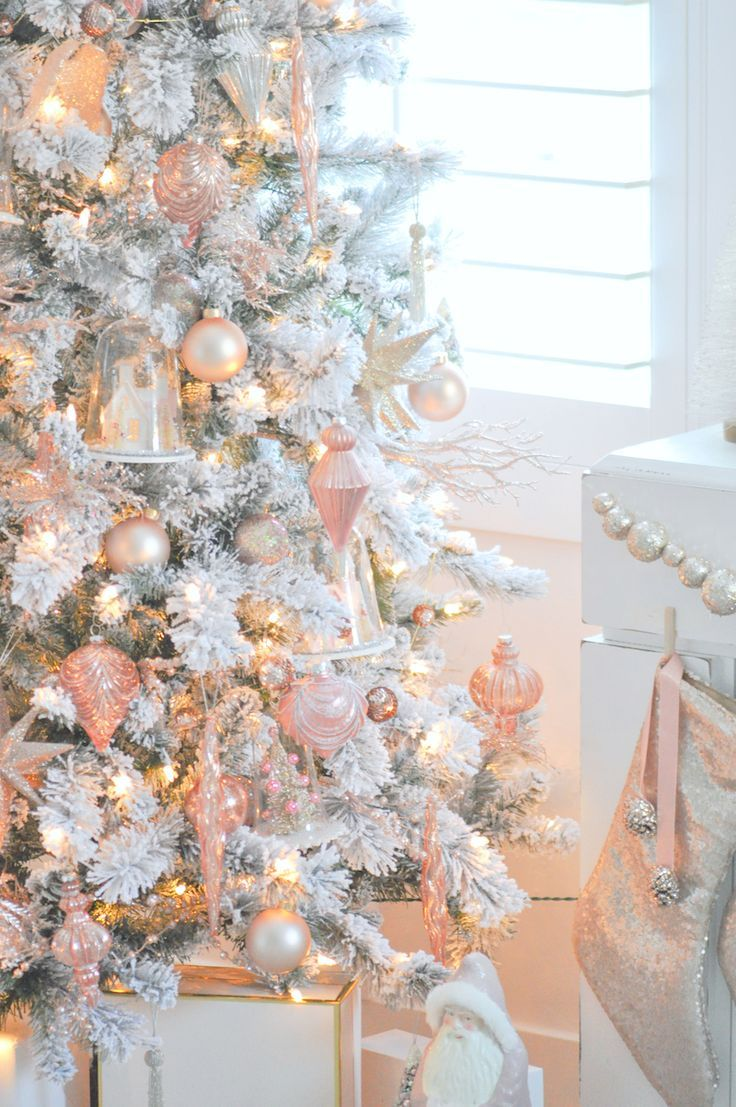 Rosegold Christmas Wallpapers Wallpaper Cave