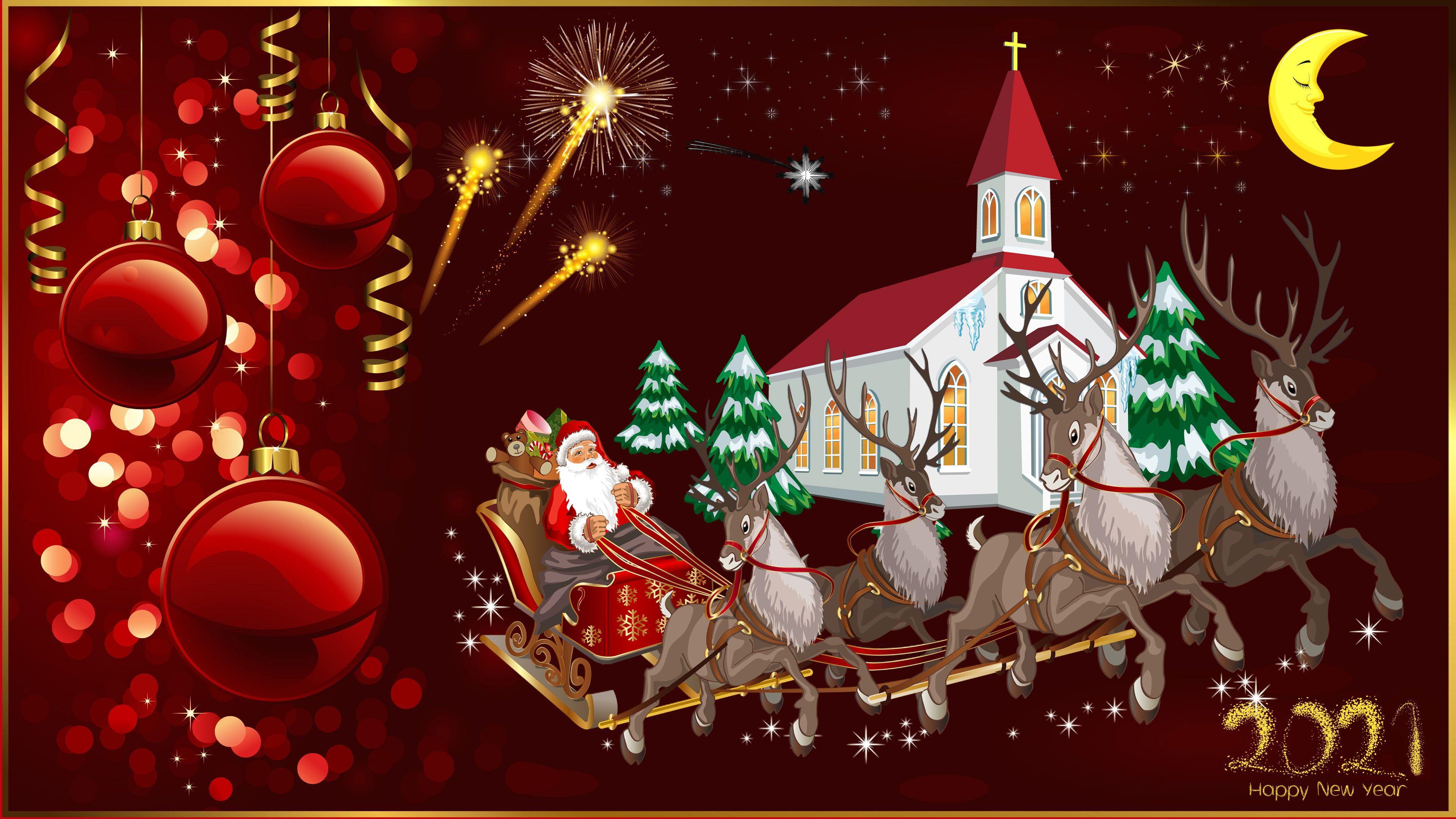 2021 Christmas Images Wallpaper For Desktop Merry Christmas 2021 Wallpapers Wallpaper Cave