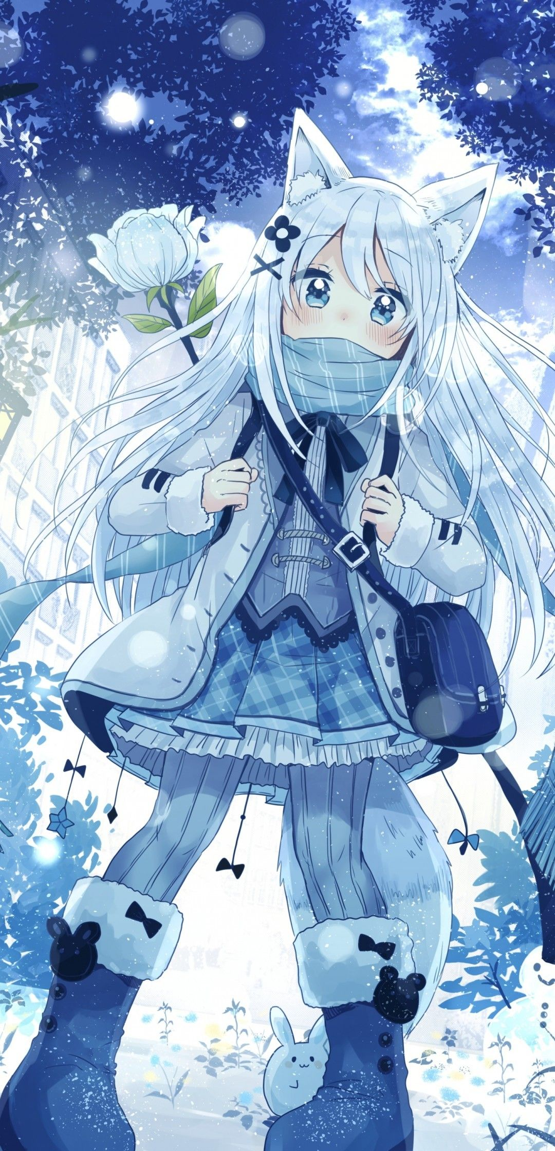 Anime Winter Girls Wallpapers - Wallpaper Cave