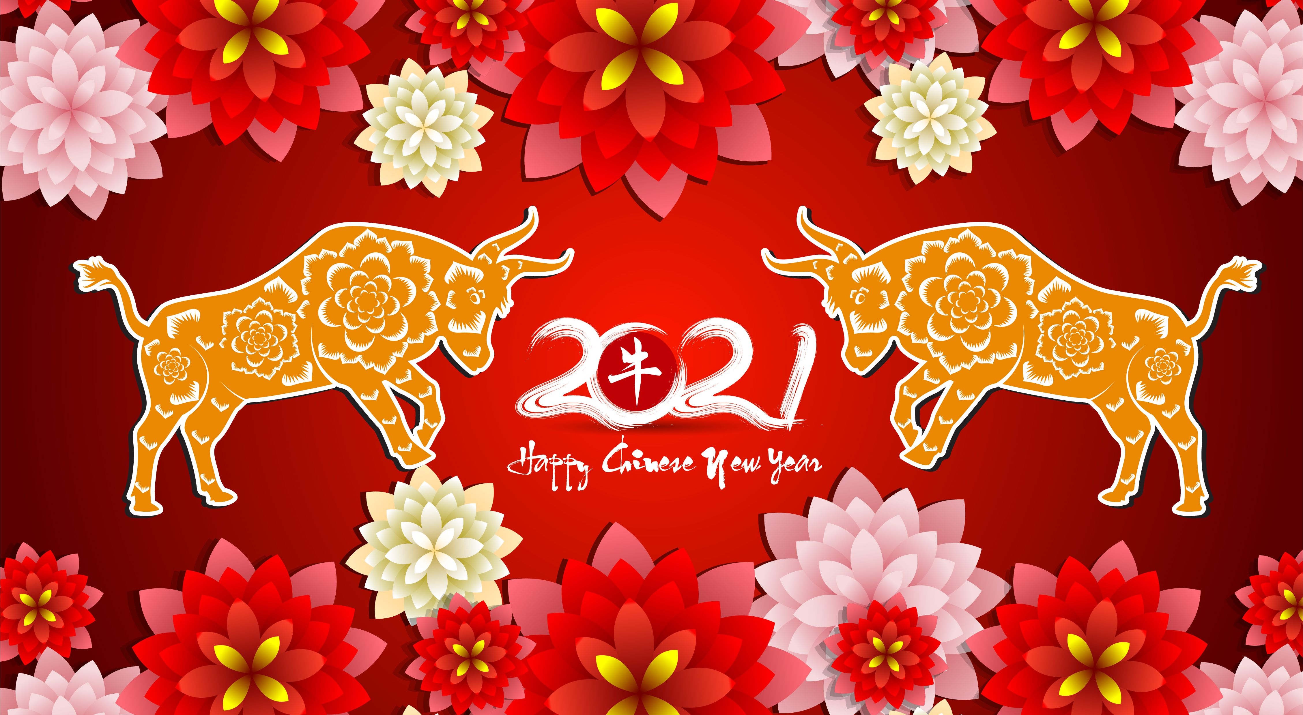 2021 Chinese New Year Wallpapers Wallpaper Cave