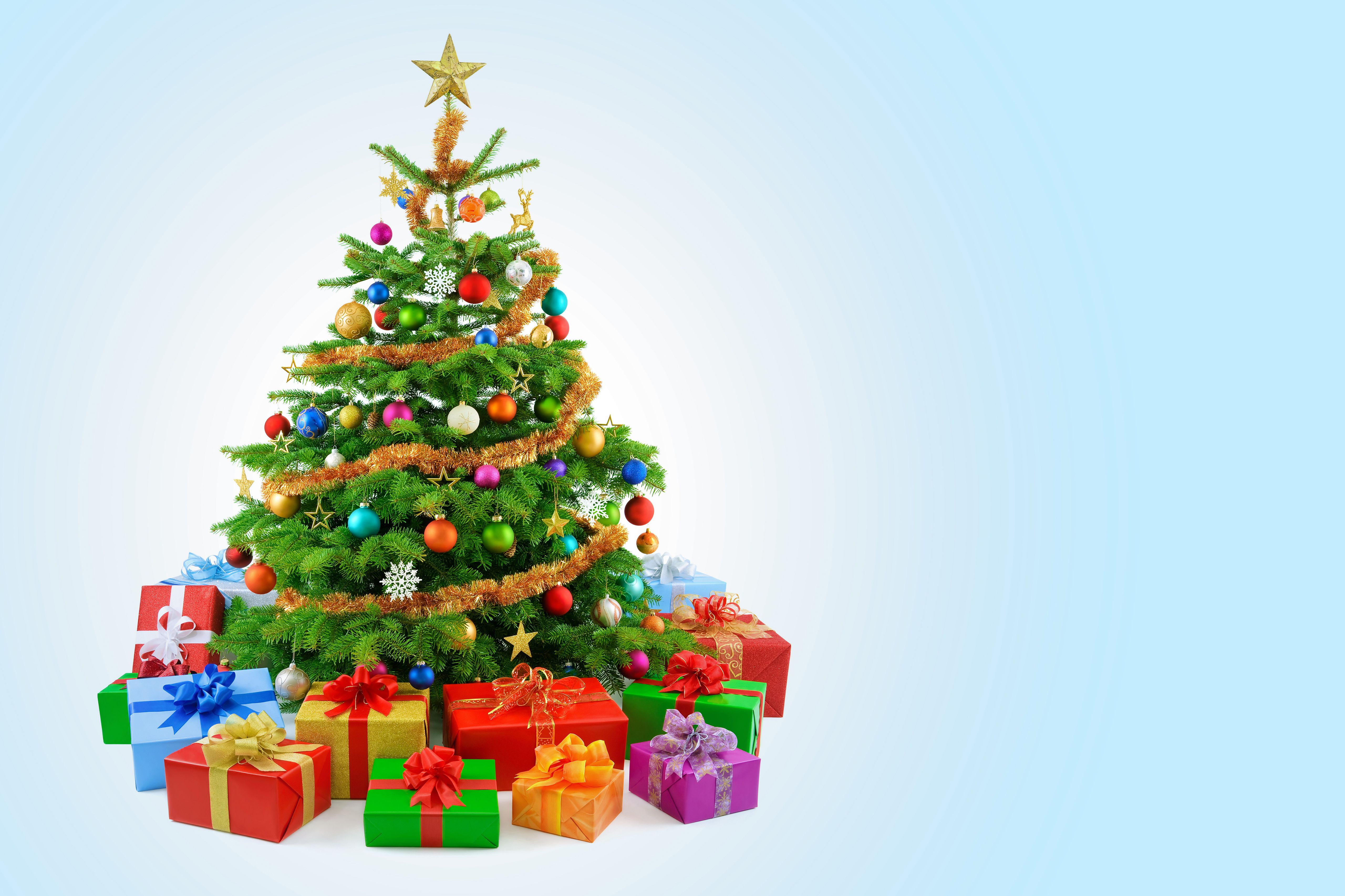 Christmas Tree And Presents Wallpapers Wallpaper Cave