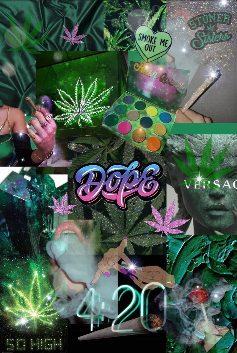 Aesthetic Cannabis Wallpapers ...