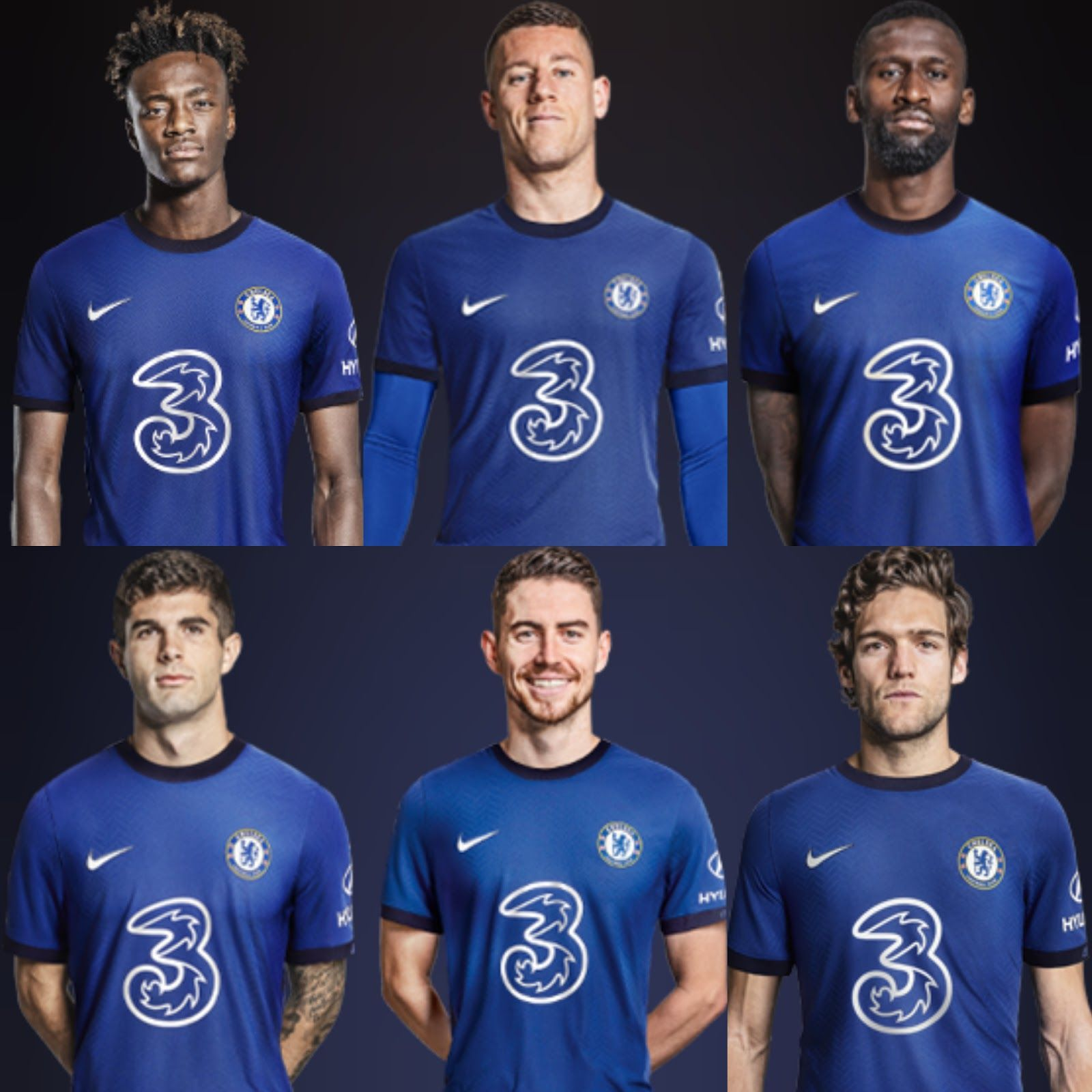 Chelsea 2020/2021 Players Wallpapers - Wallpaper Cave