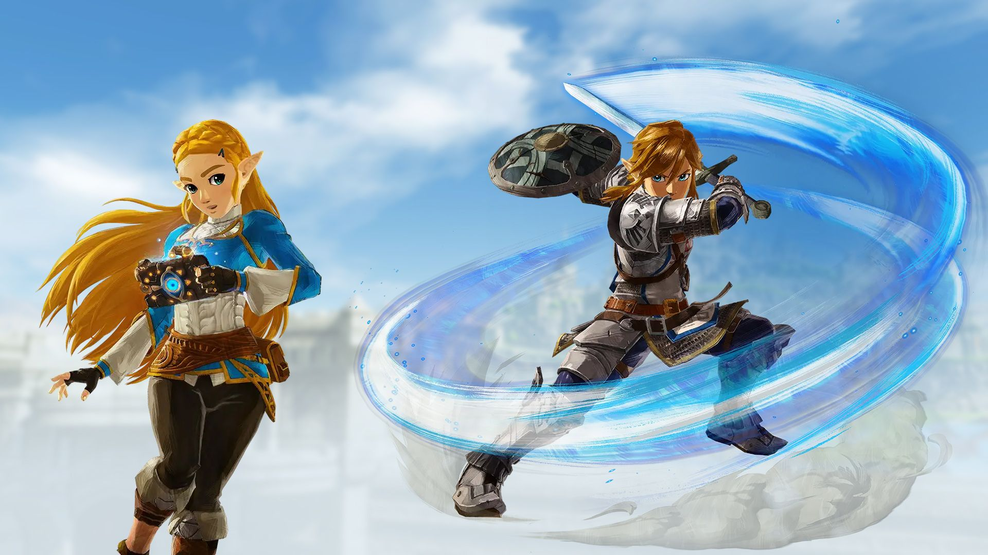 Hyrule Warriors Age Of Calamity Hd Wallpapers Wallpaper Cave