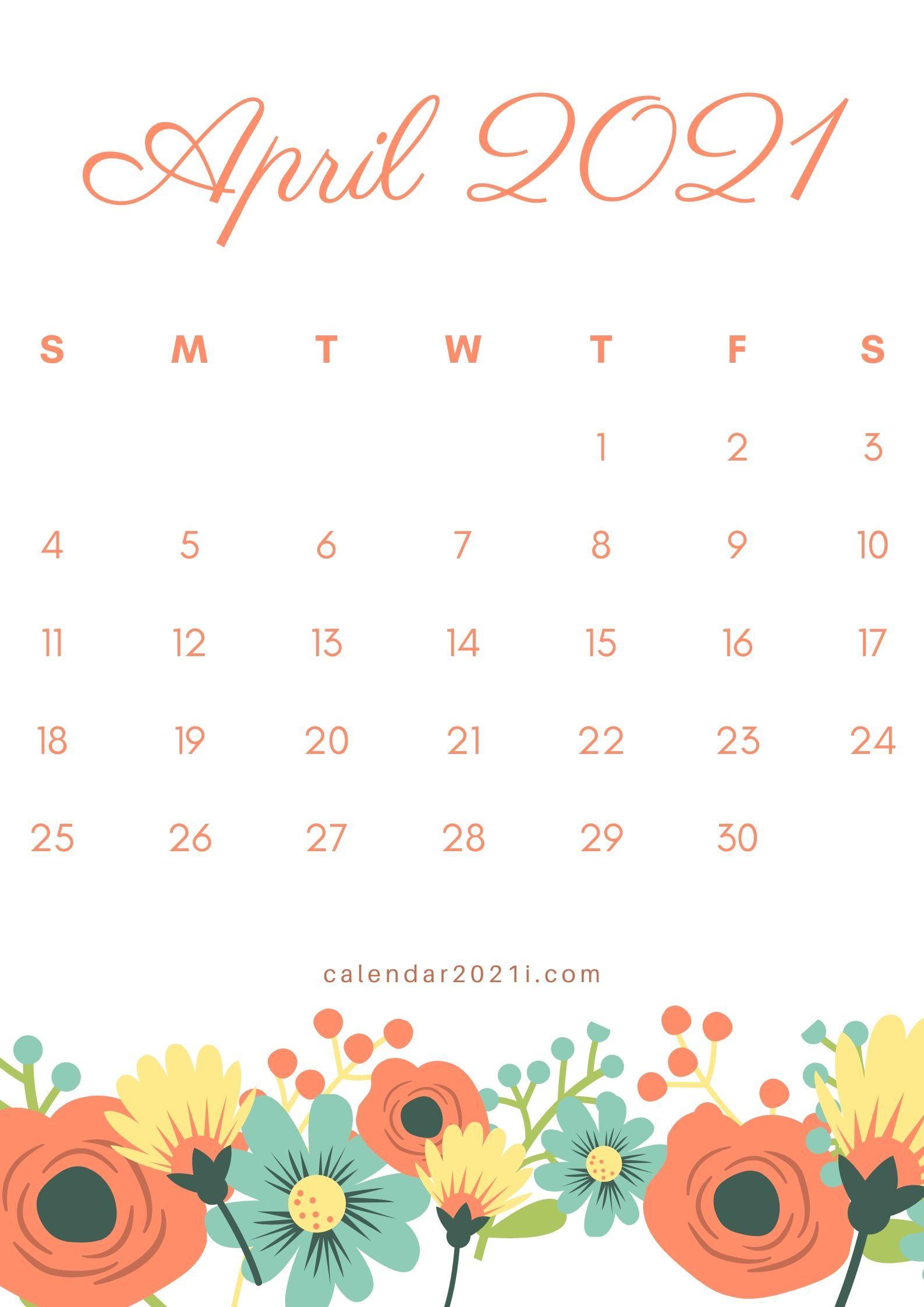 April 2022 Wallpaper Calendar.April 2021 Calendar Wallpapers Wallpaper Cave