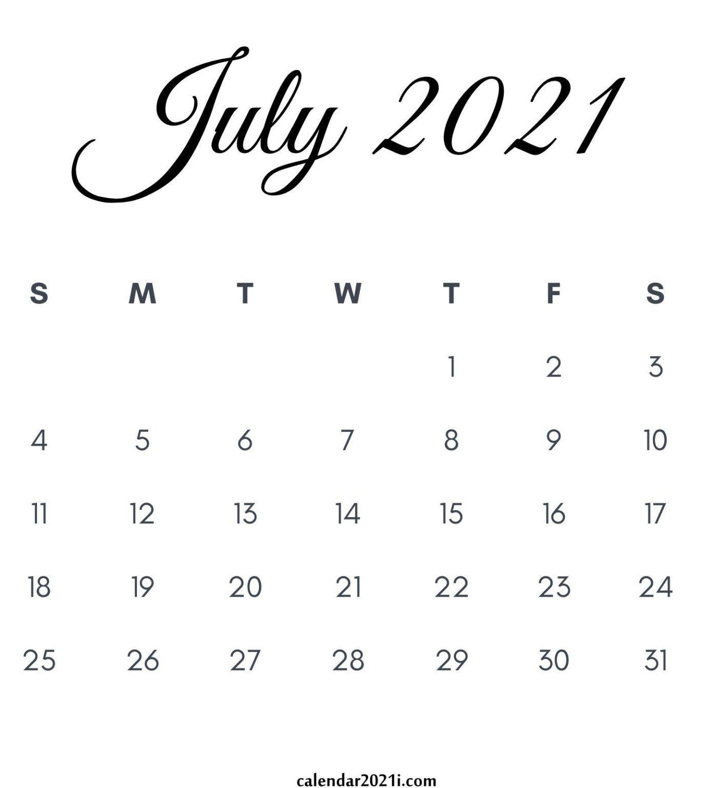 July 2021 Calendar Wallpaper July 2021 Calendar Wallpapers   Wallpaper Cave