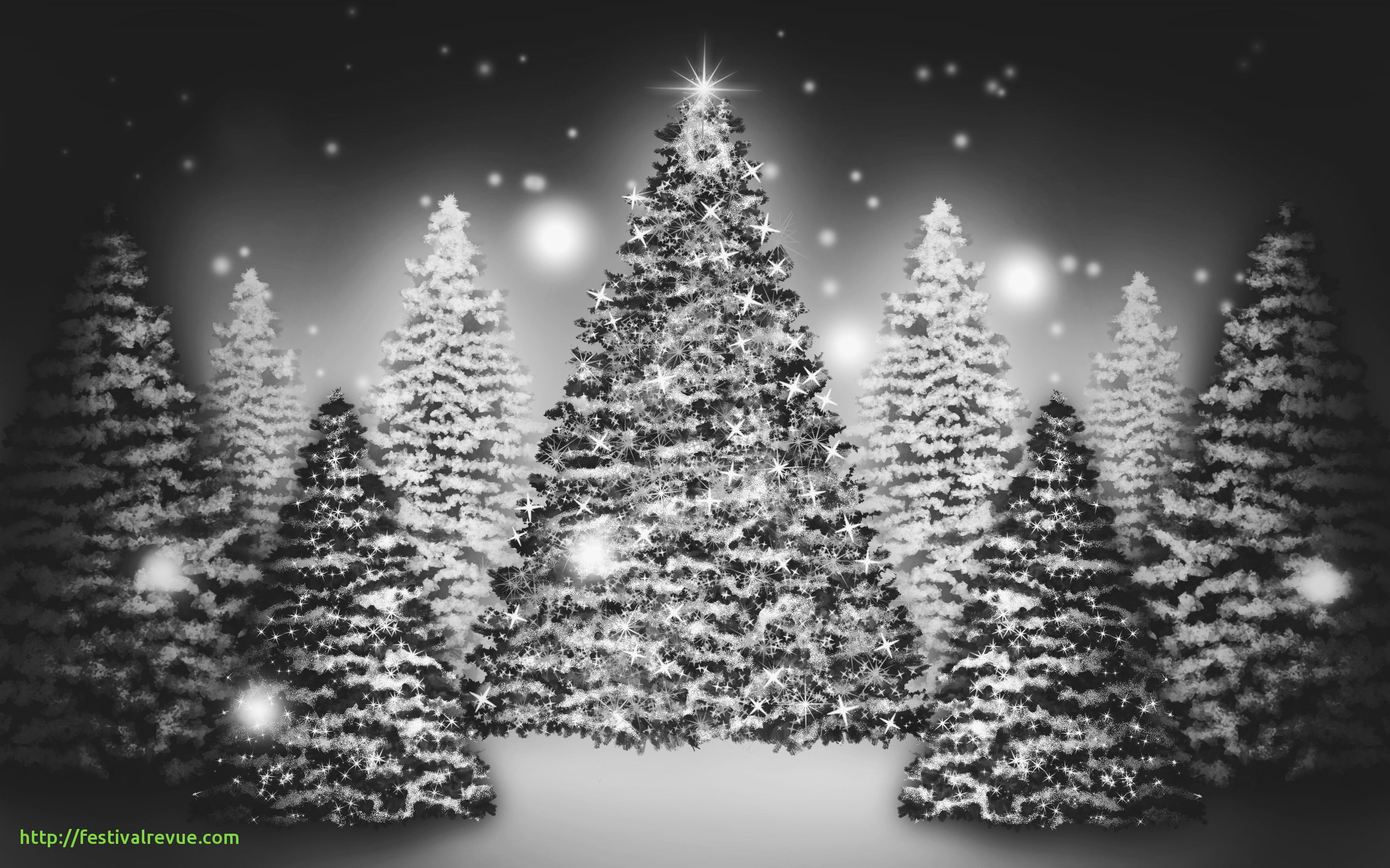 Black And White Christmas Wallpapers Wallpaper Cave