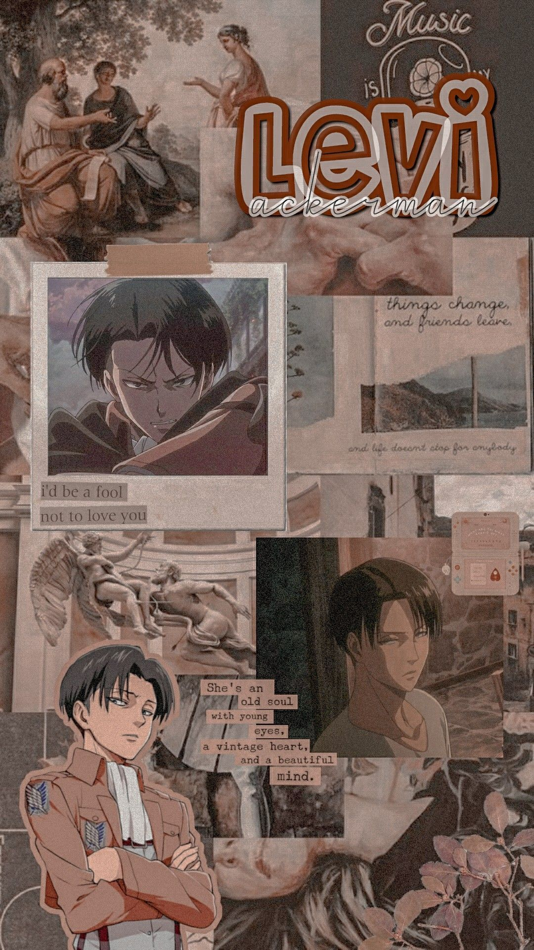 Aesthetic Levi Ackerman Wallpapers Wallpaper Cave
