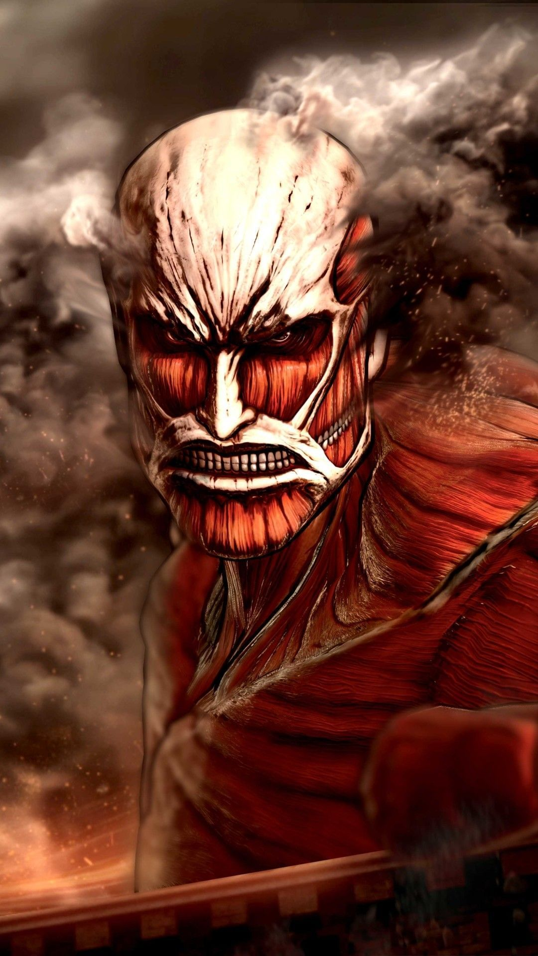Colossal Titan Wallpapers Wallpaper Cave
