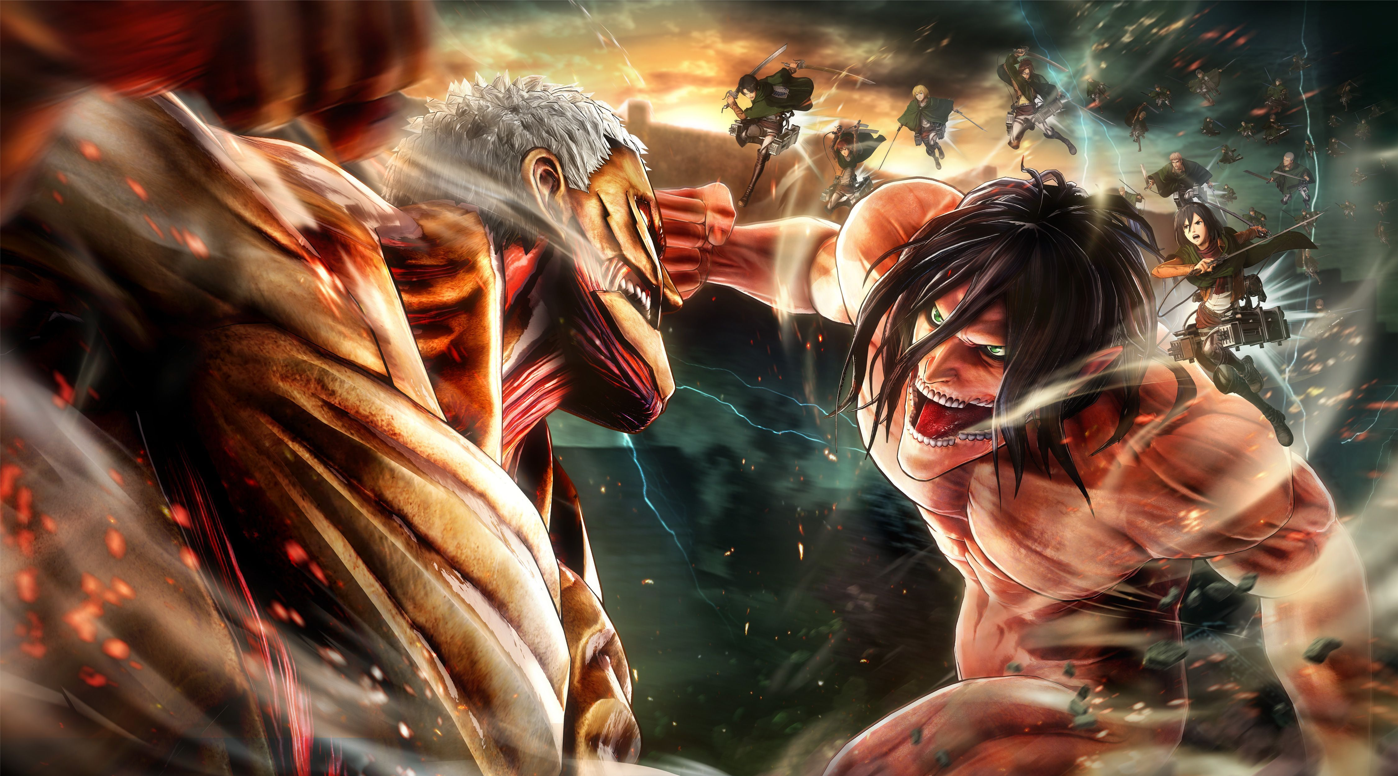 Colossal Titan Wallpapers - Wallpaper Cave