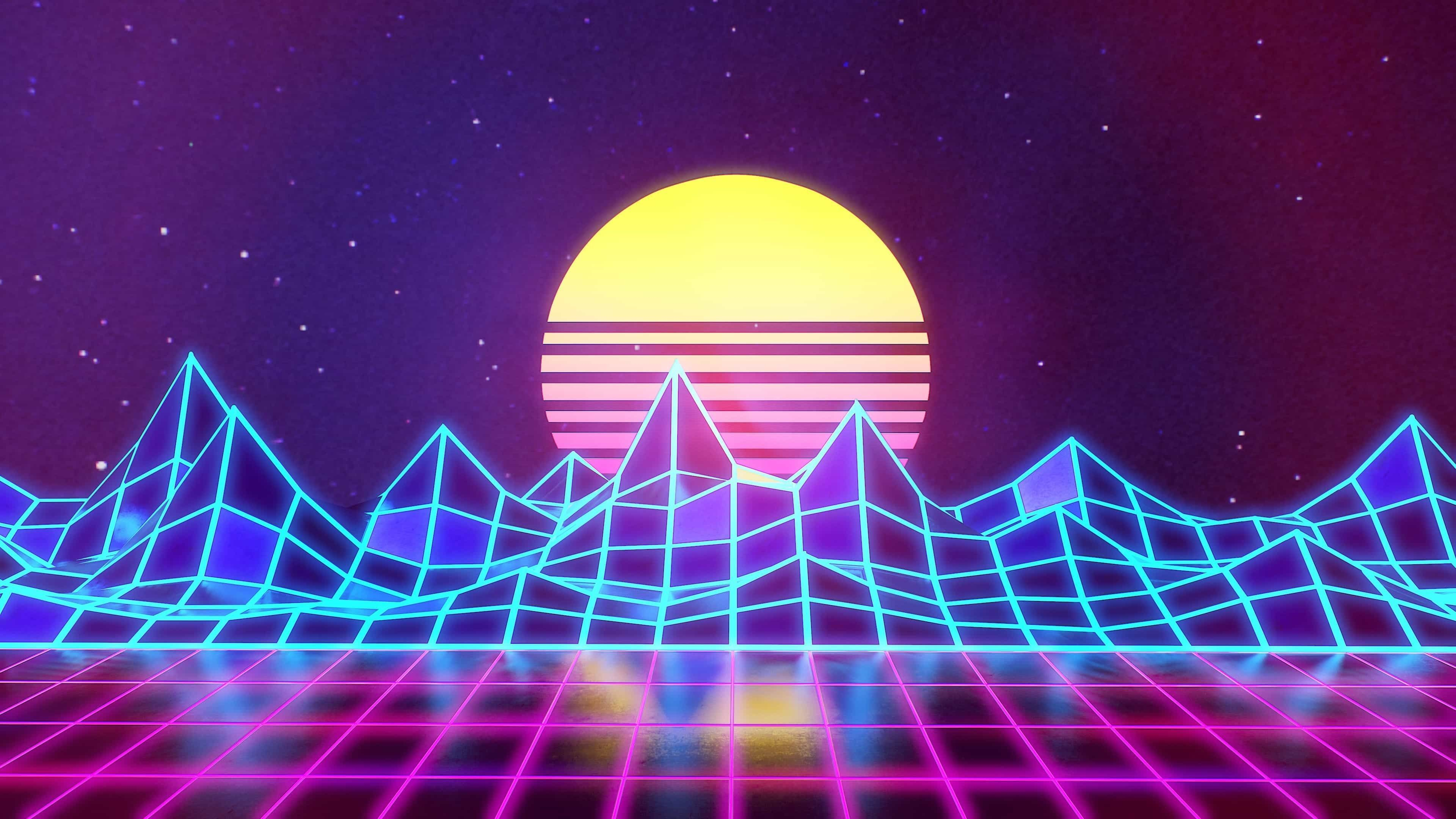 80s Synthwave Anime Wallpapers