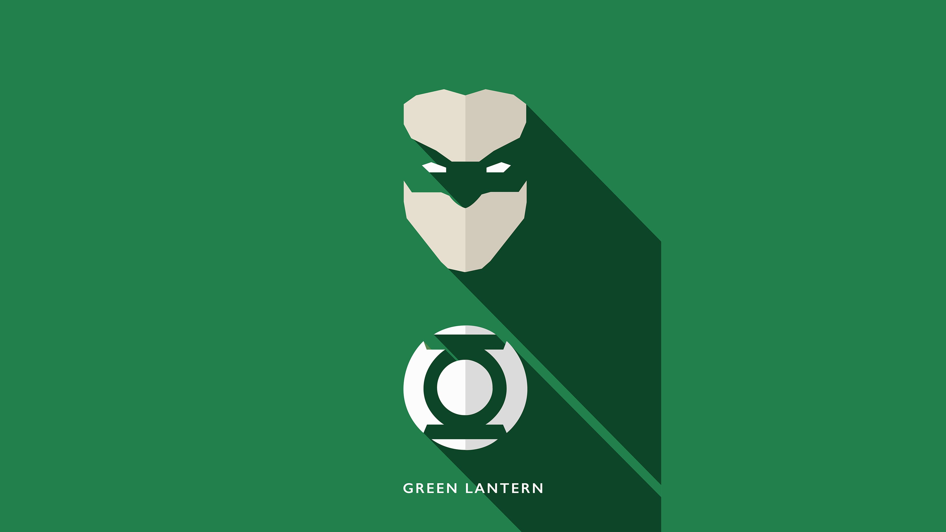 Green Lantern Minimalism 4k, HD Superheroes, 4k Wallpapers, Image, Backgrounds, Photos and Pictures