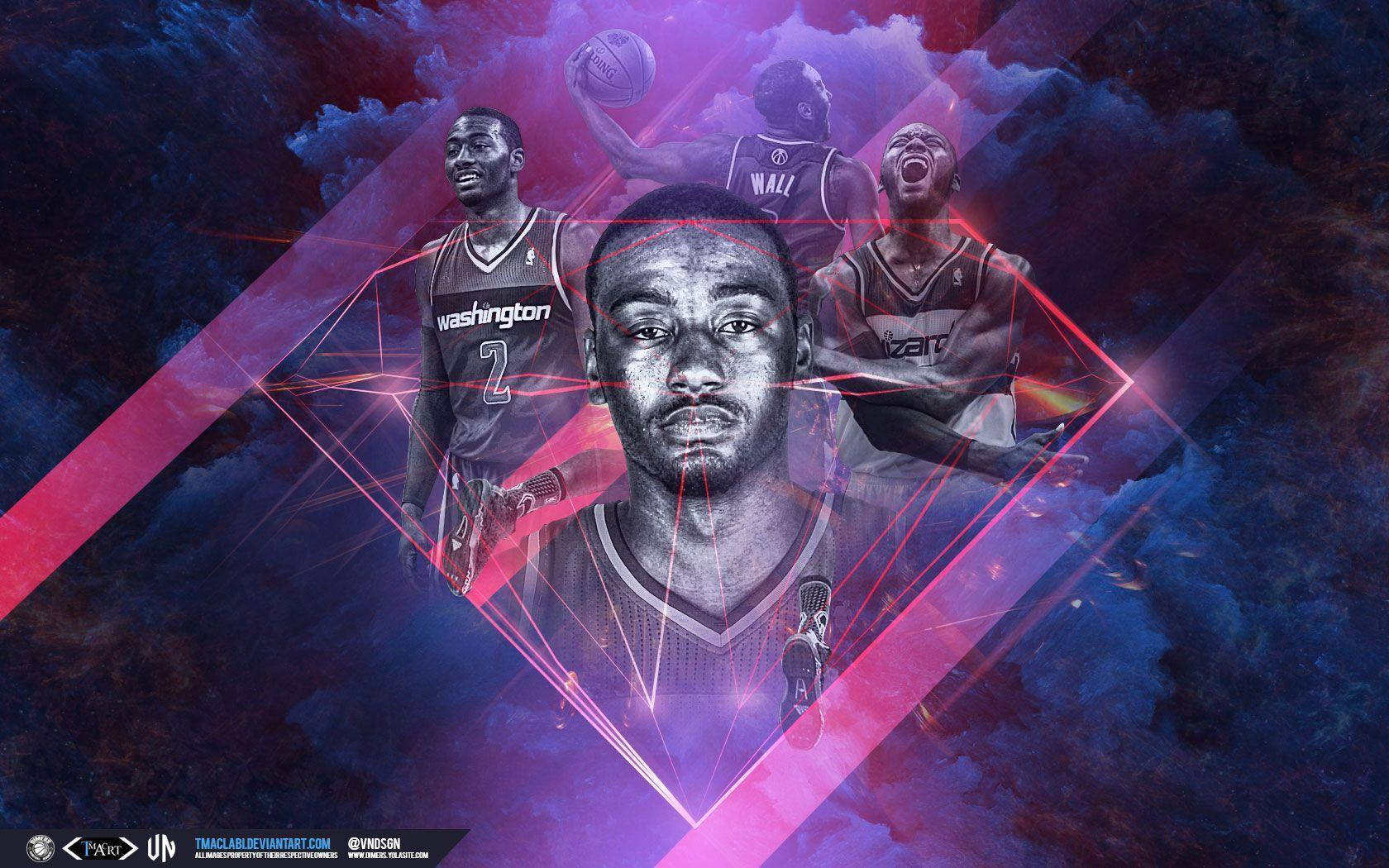 John Wall Wizards Wallpaper | Basketball Wallpapers at ...