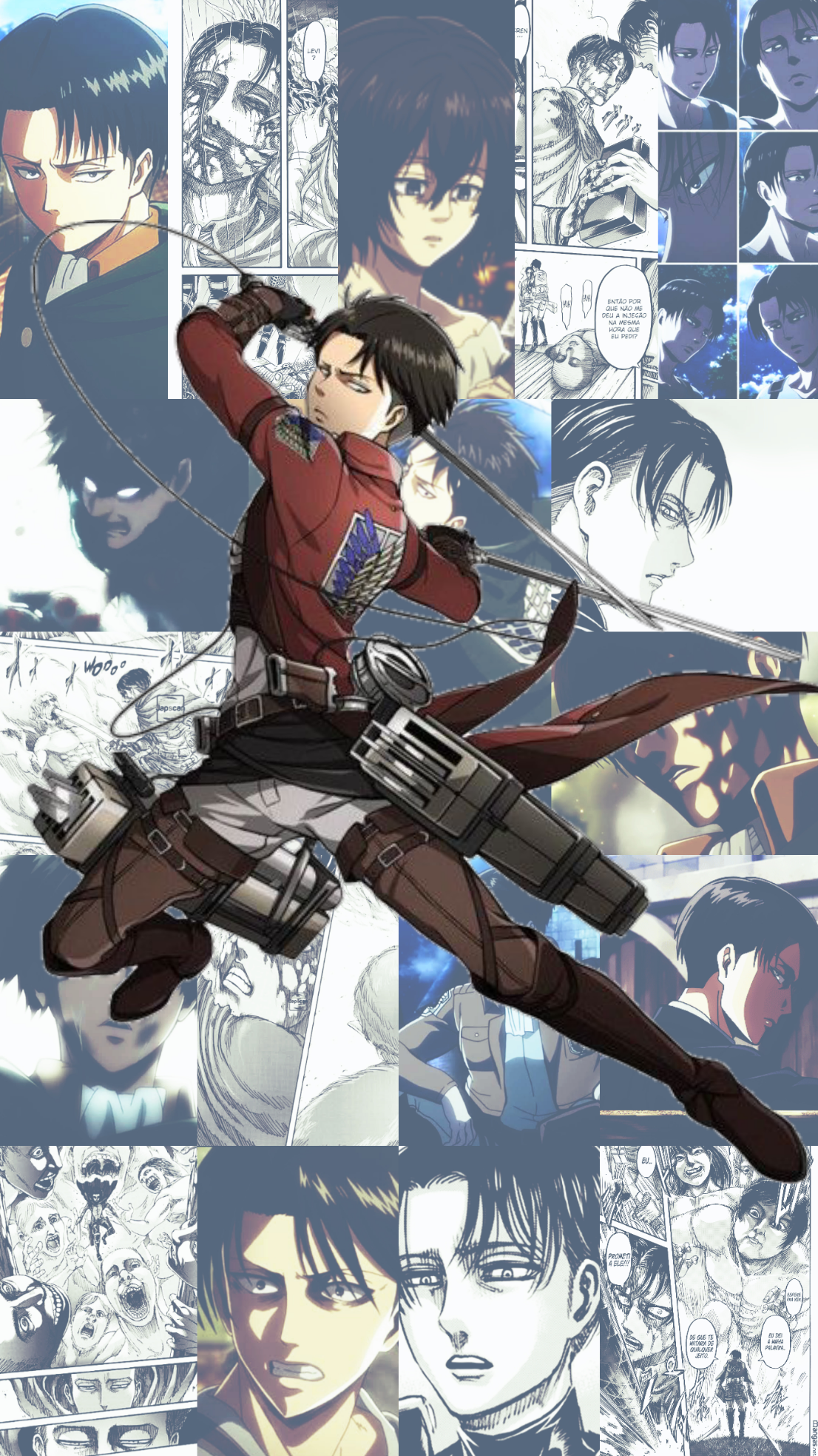 levi aot wallpapers