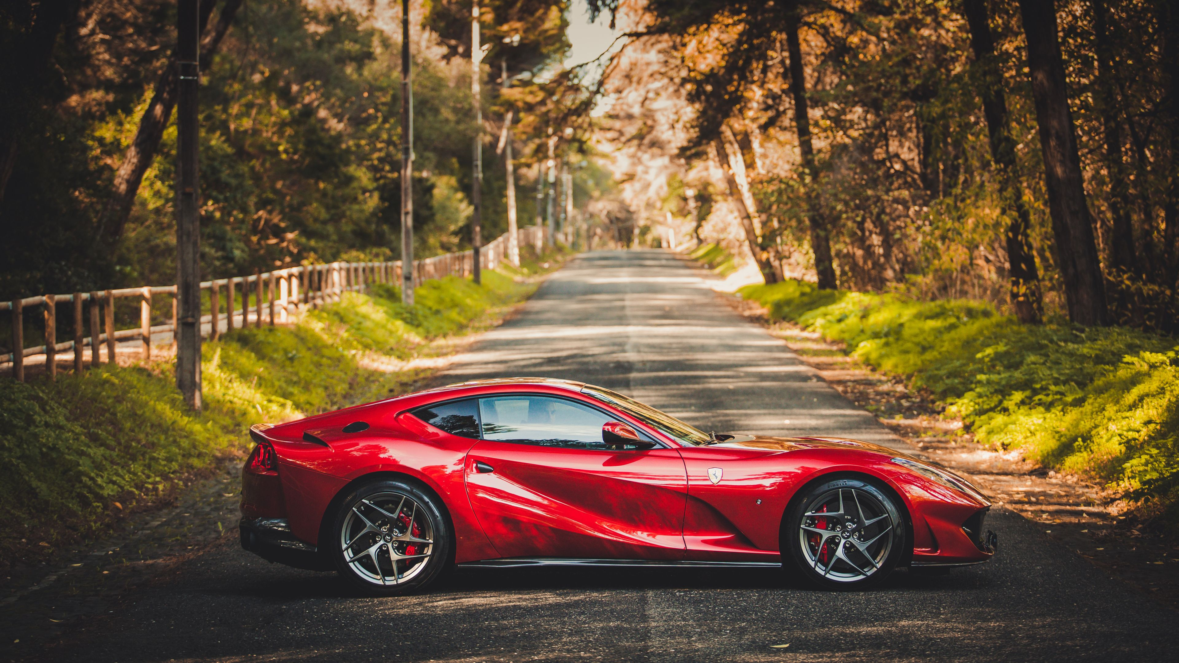 Ferrari Wallpaper 4K