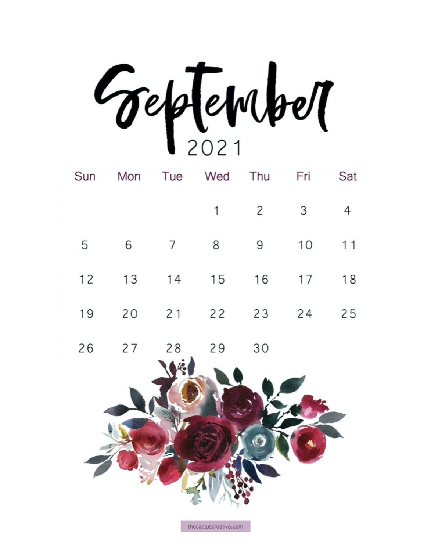 September 2021 Calendar Wallpapers - Wallpaper Cave