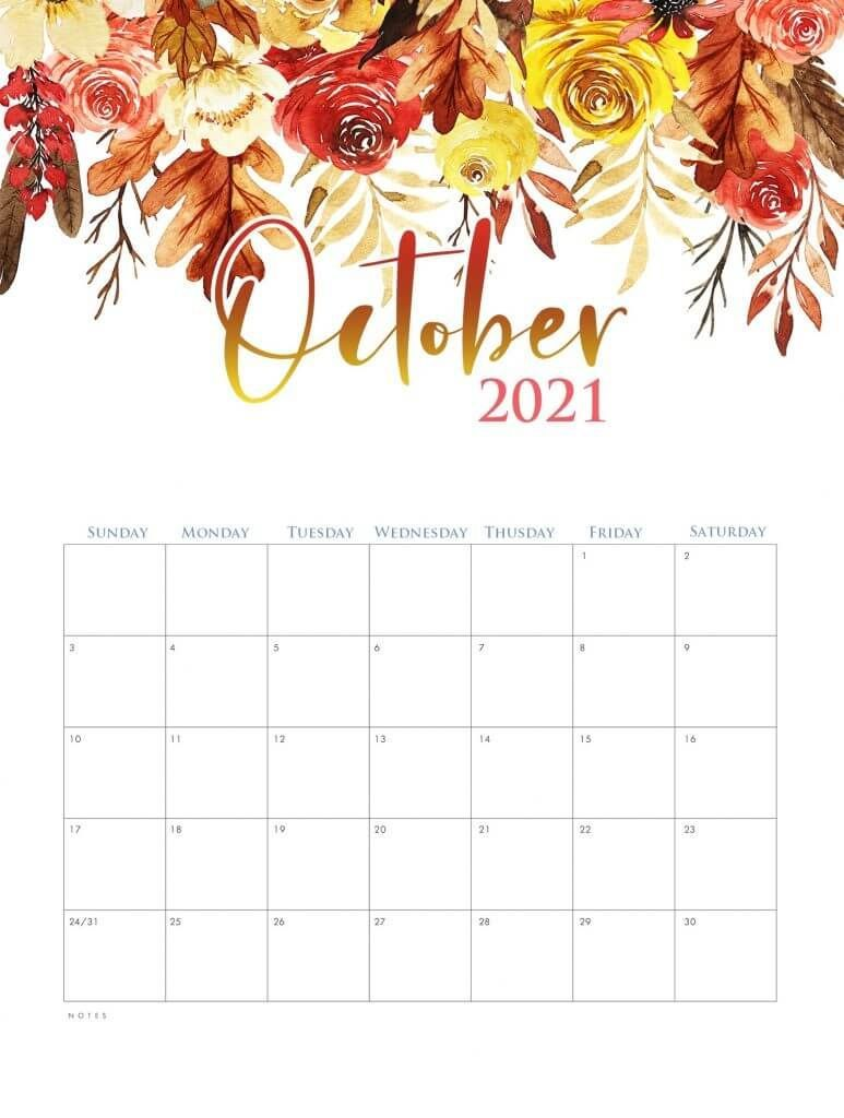 October 2021 Calendar Wallpapers - Wallpaper Cave