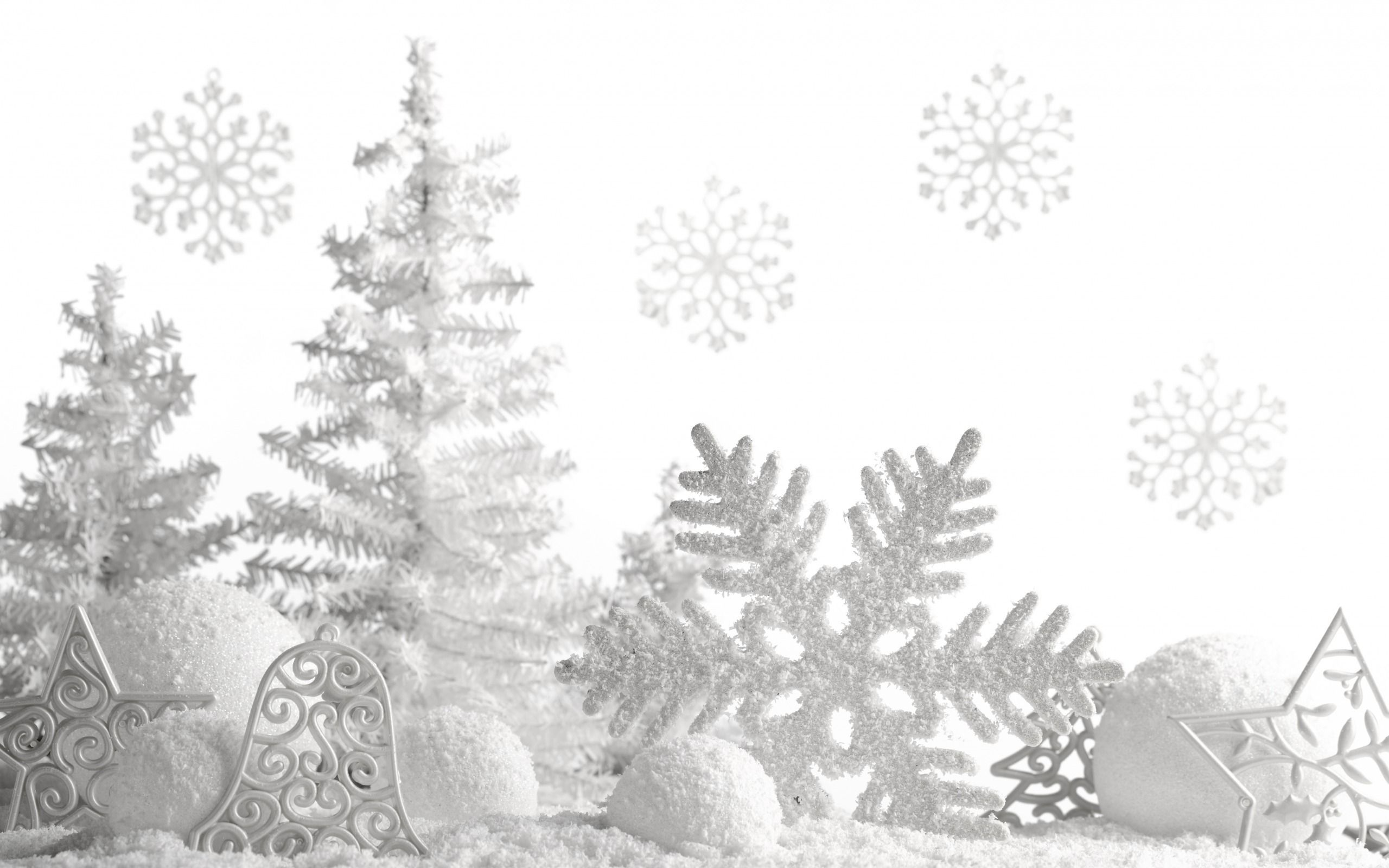 White Xmas Tree Wallpapers Wallpaper Cave
