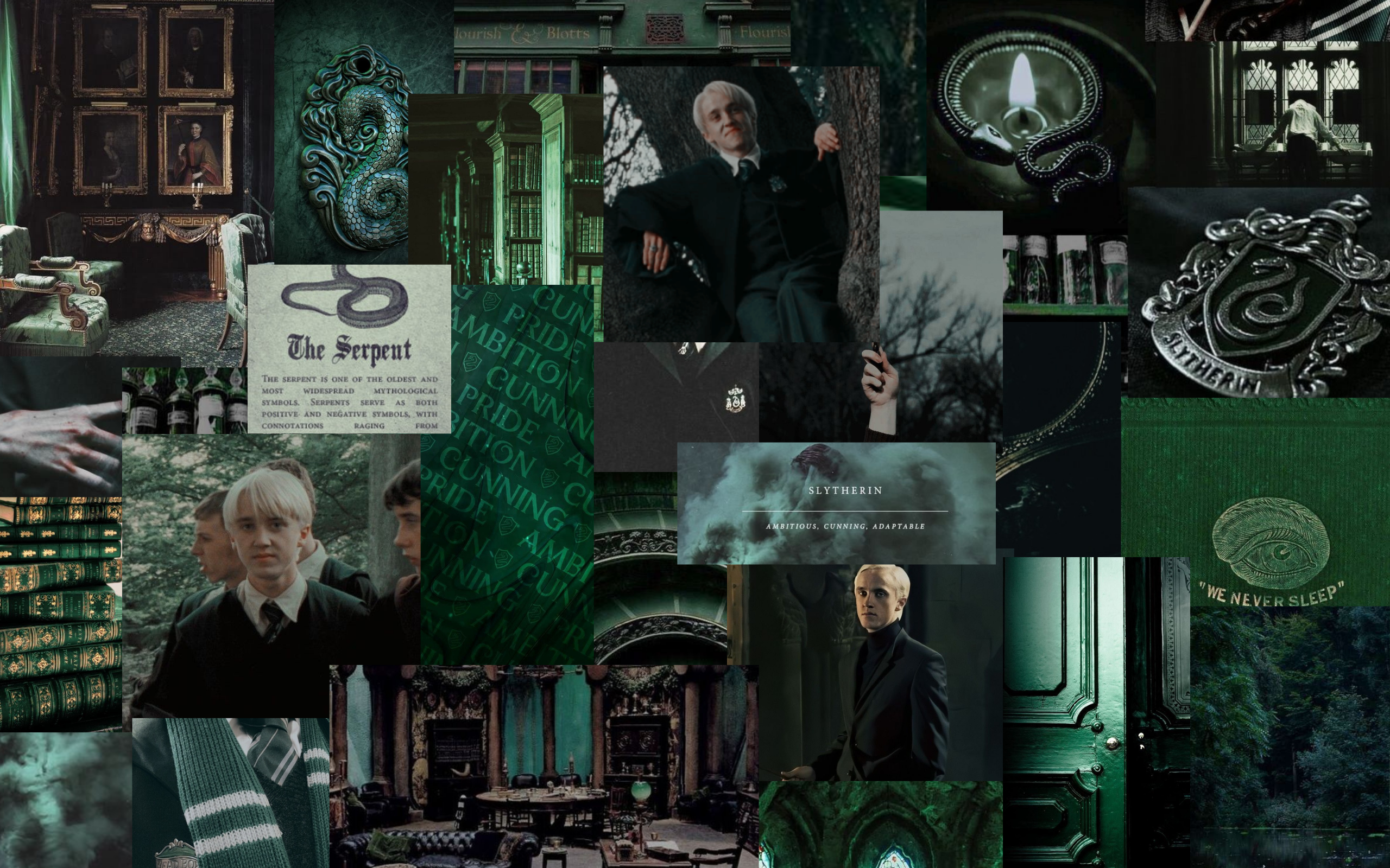 Draco Malfoy Aesthetic PC Wallpapers - Wallpaper Cave