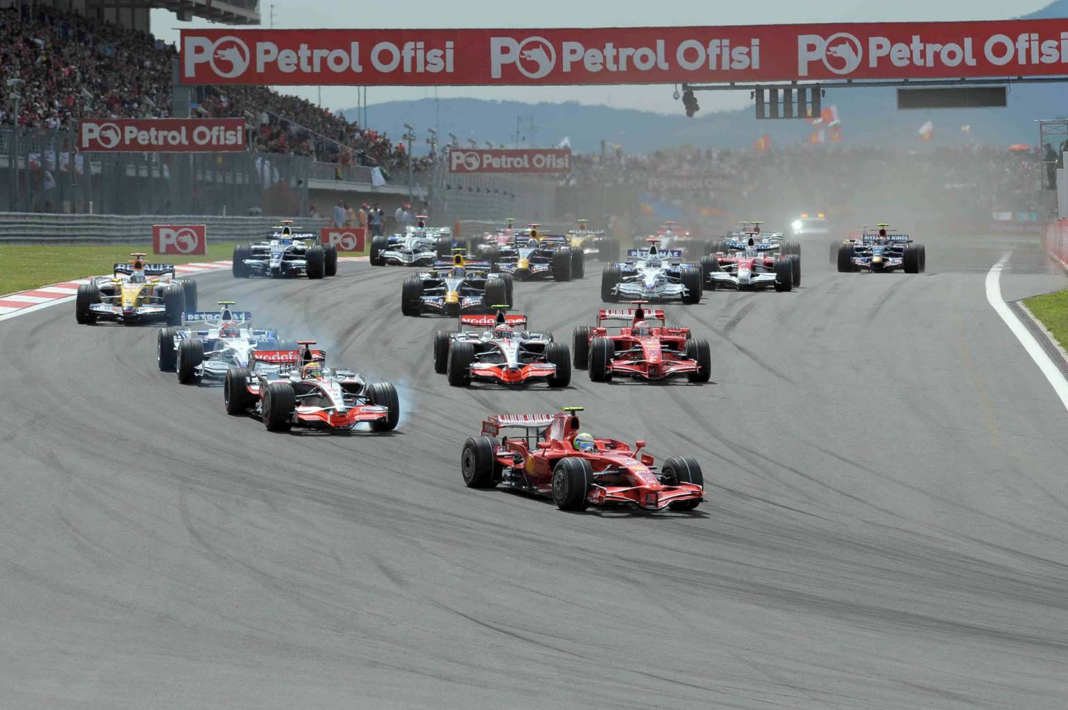 Wallpapers Turkish Grand Prix of 2008
