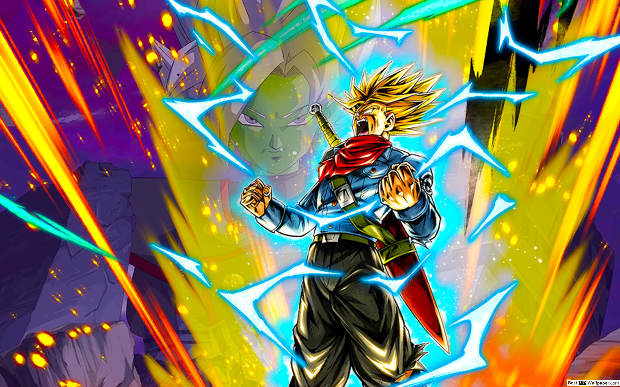Rage Trunks Wallpapers - Wallpaper Cave