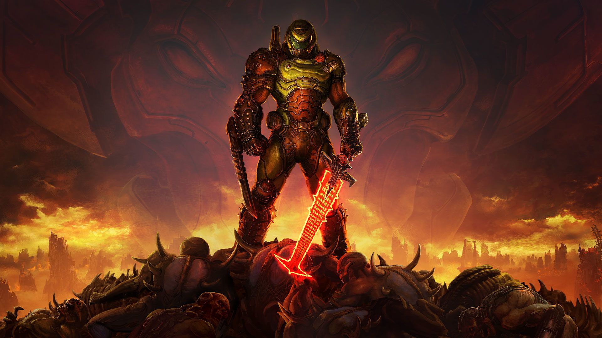 Doom Slayer Symbol Wallpapers - Wallpaper Cave