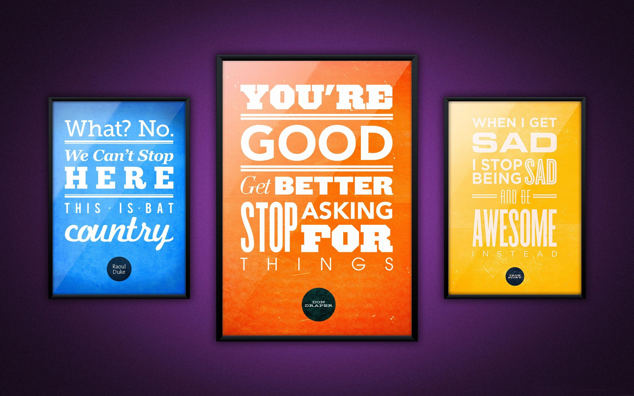 The quotes Mac Wallpapers Download