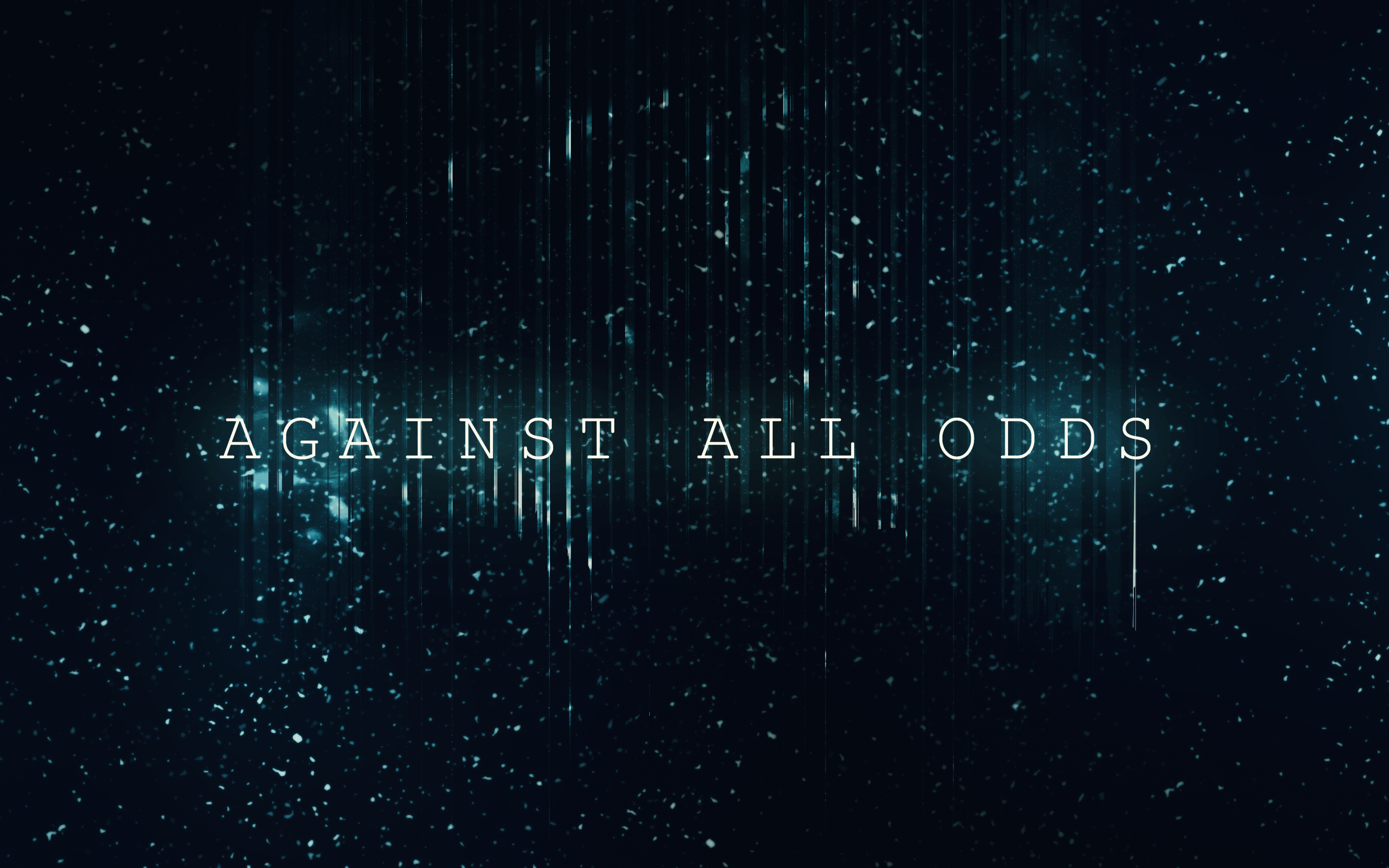 Download 2880x1800 Against All Odds, Motivational Quote Wallpapers for MacBook Pro 15 inch