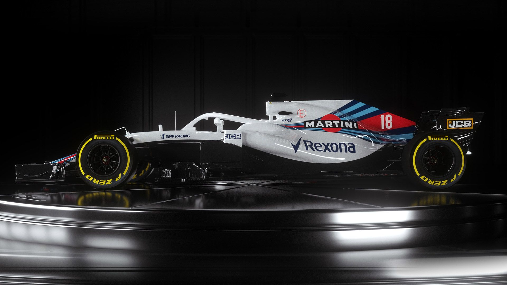 Williams Racing Zoom Background 3