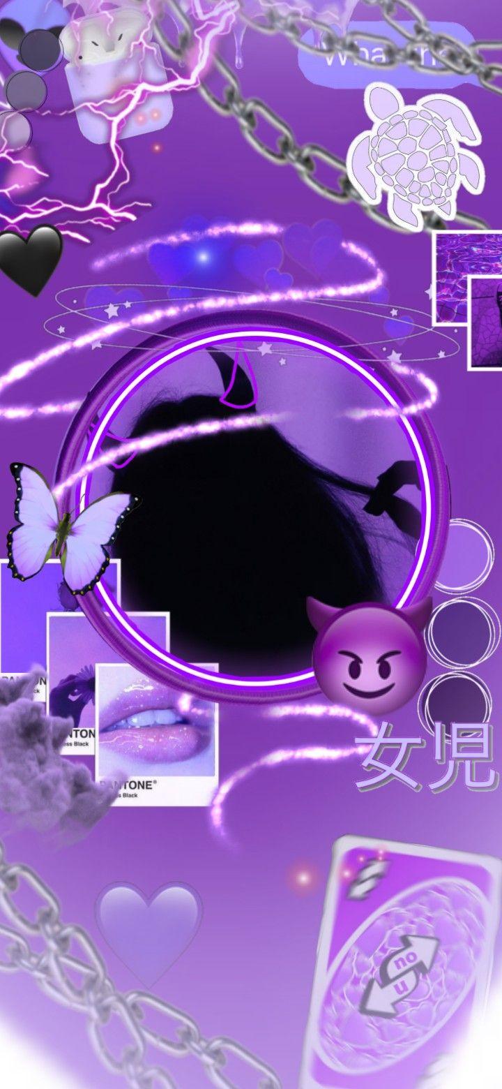 Baddie Purple Wallpapers - Wallpaper Cave
