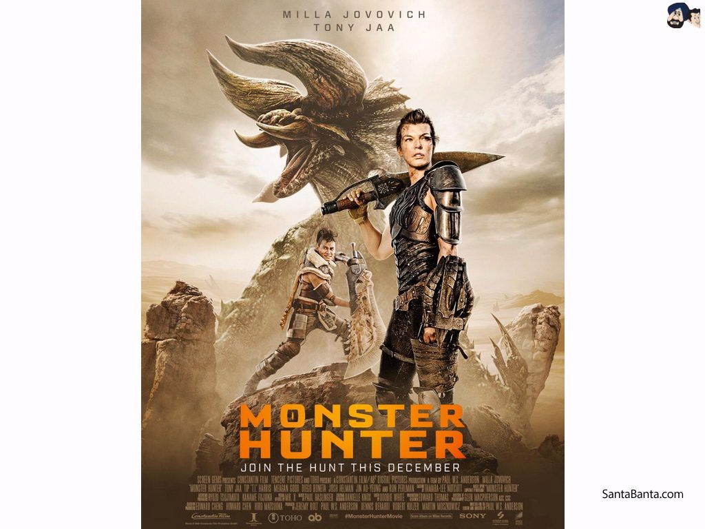 Monster Hunter Movie Wallpapers