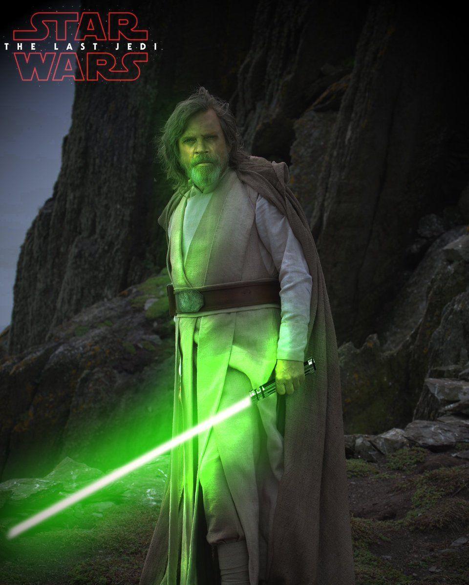 Luke Skywalker Green Lightsaber Wallpapers - Wallpaper Cave